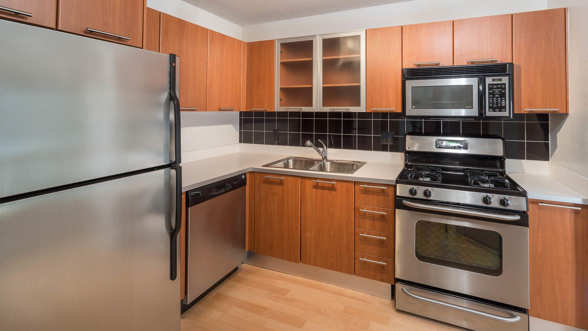 The Flats at Dupont Circle Apartments - Kitchen