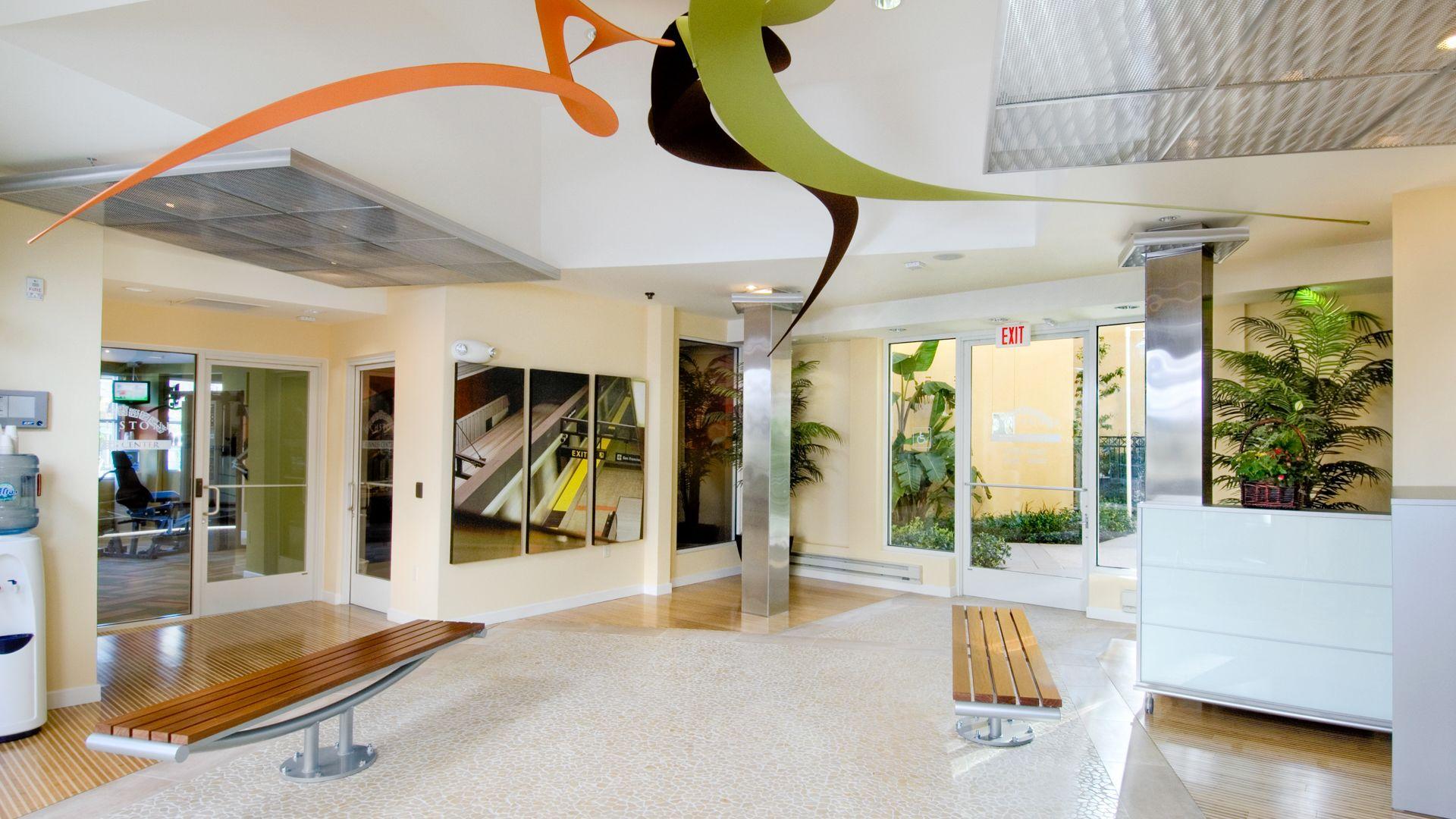 South City Station Apartments - Lobby