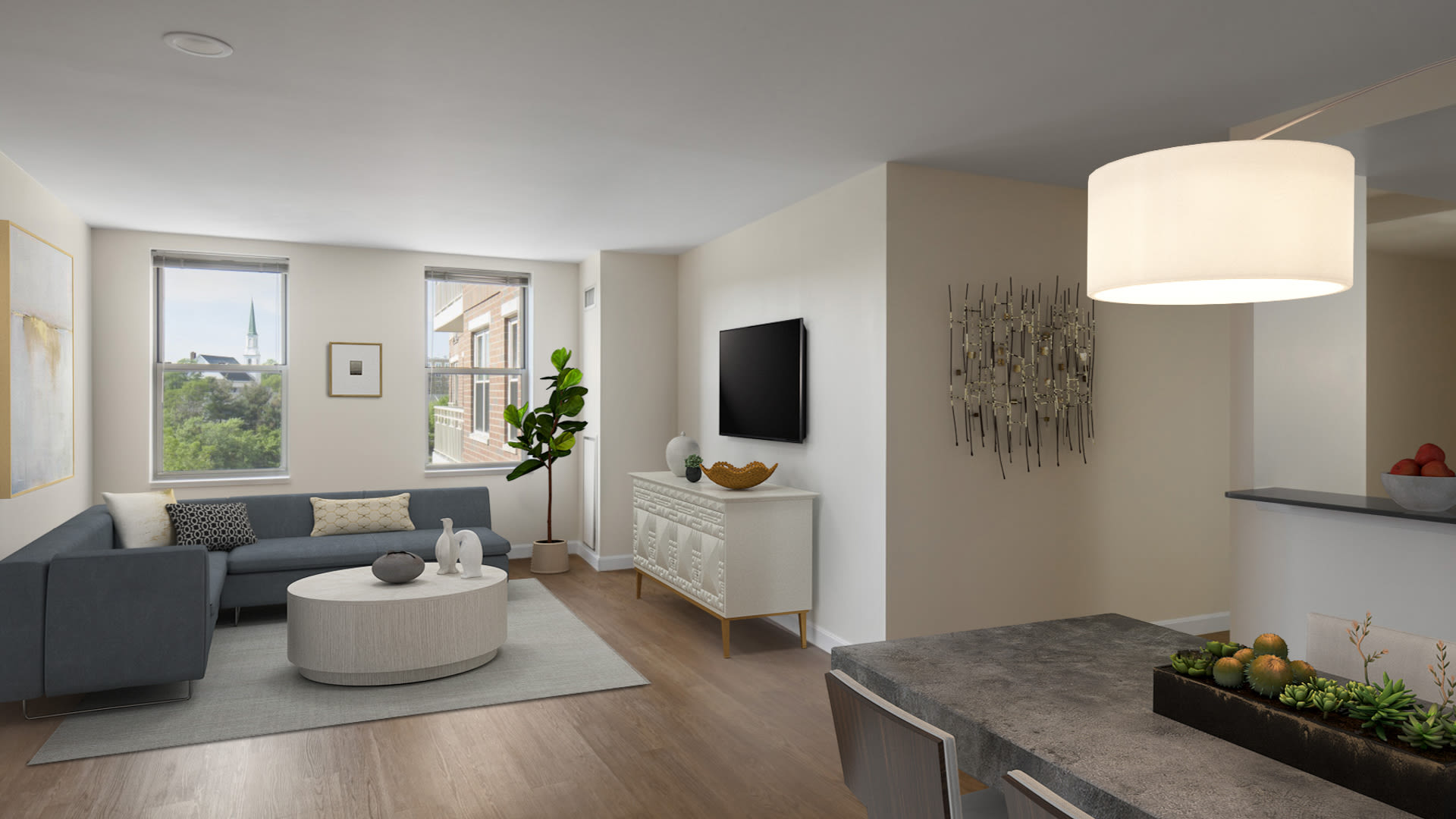 Cronin's Landing Apartments - Living Area