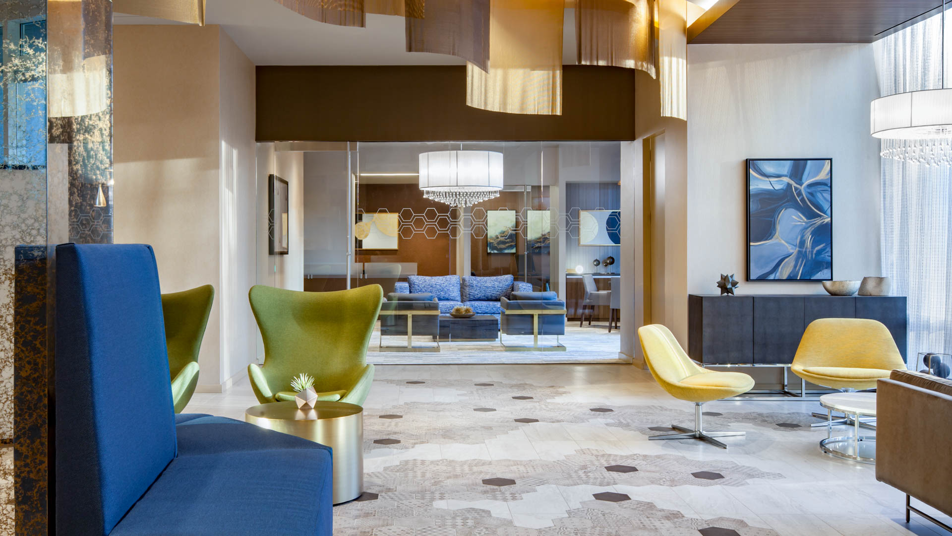 Virginia Square Apartments - Lobby