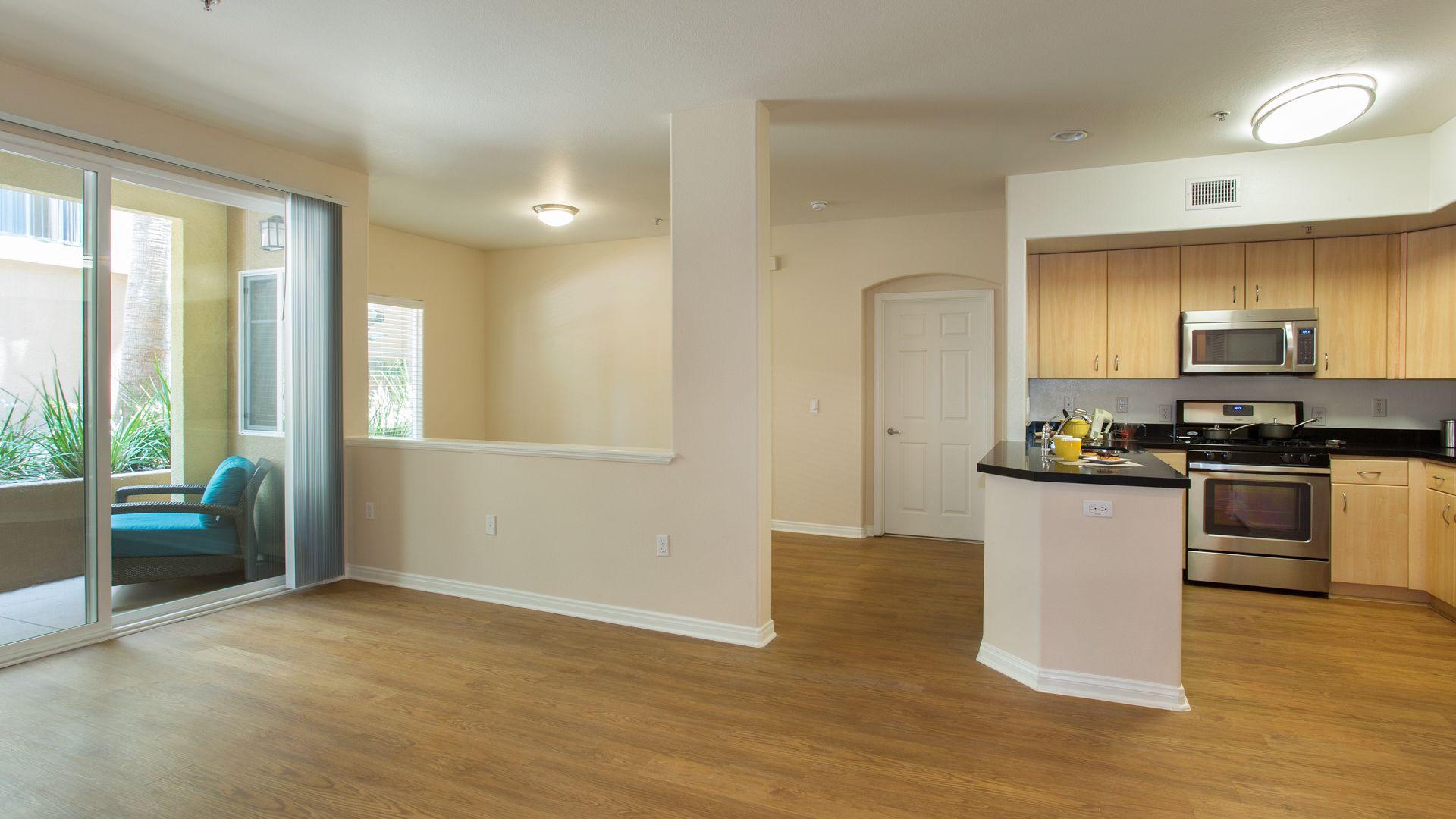 Mariposa at Playa del Rey Apartments - Living Room