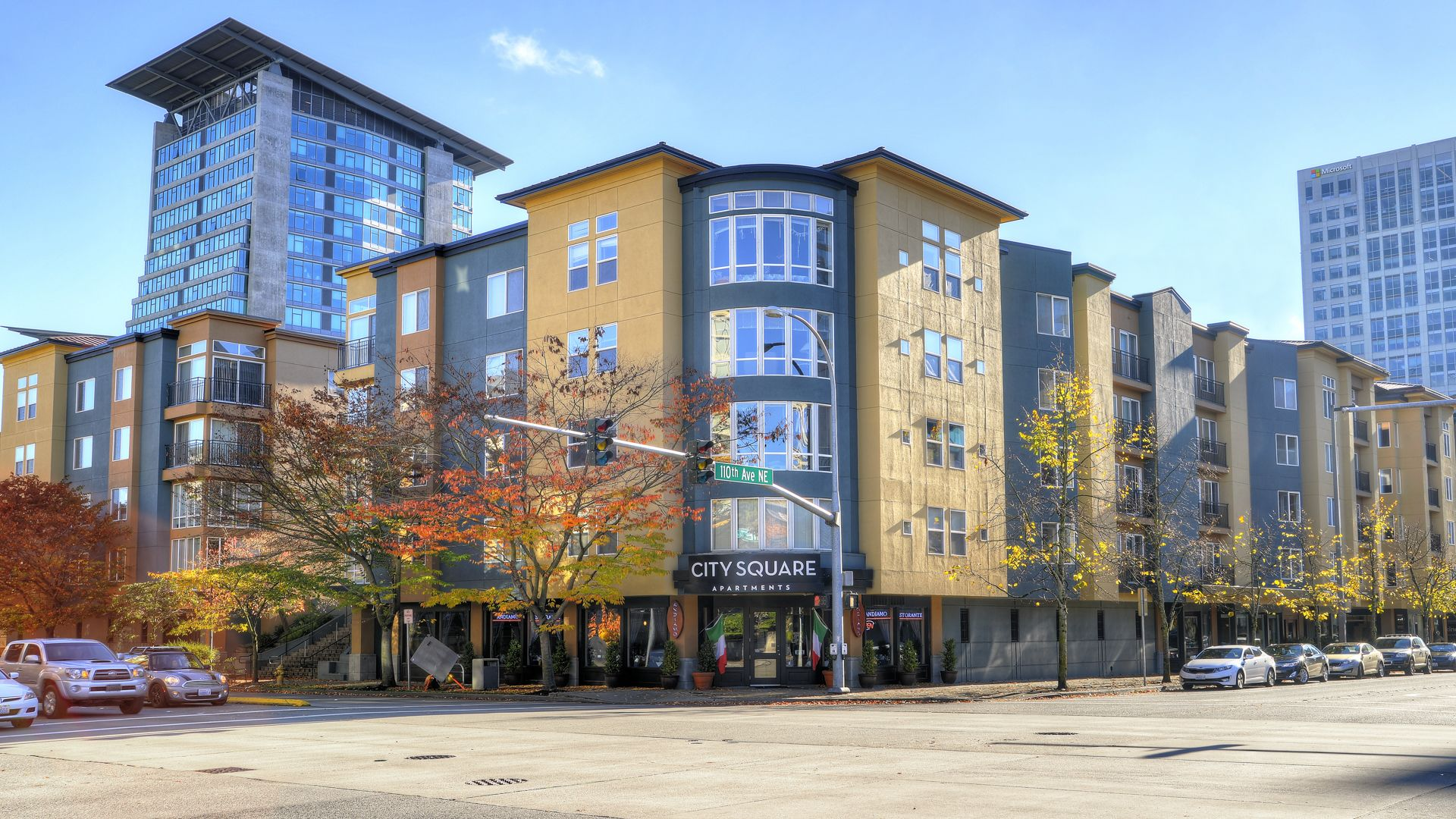 City Square Bellevue Apartments - Exterior