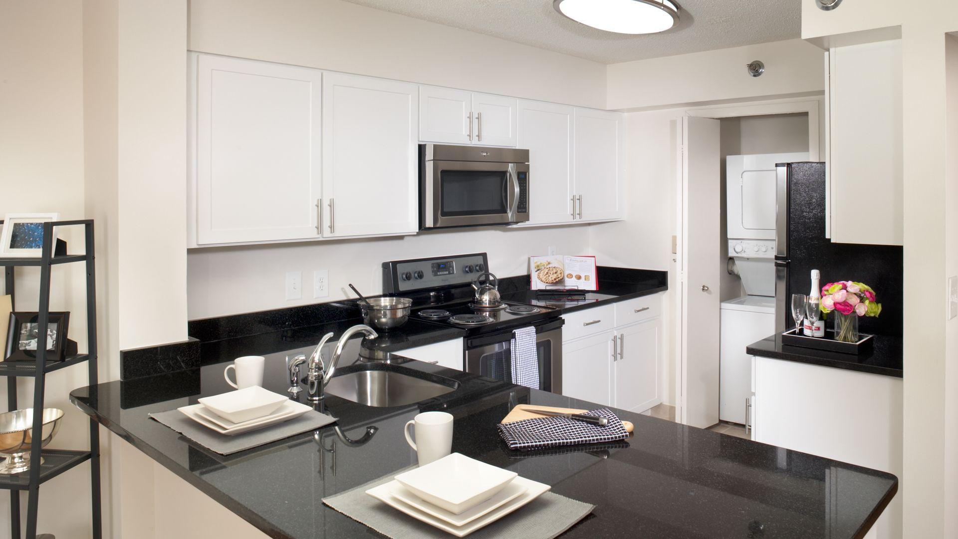 2501 Porter Apartments - Kitchen