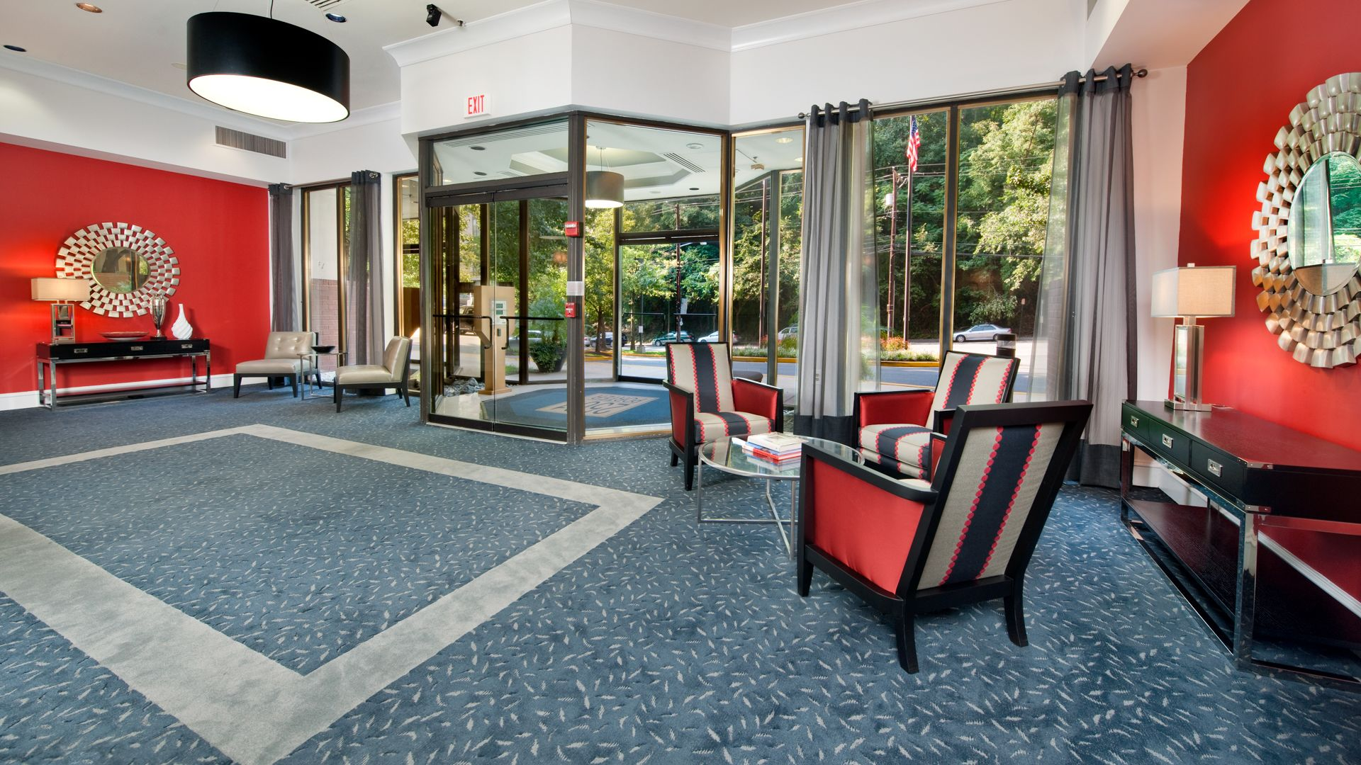2501 Porter Apartments - Lobby