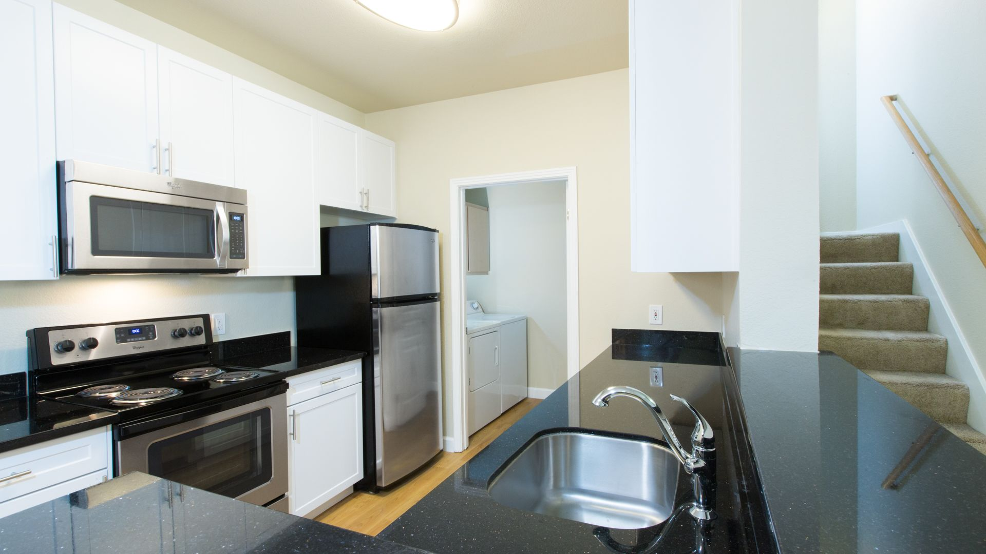 City Gate at Cupertino Apartments - Kitchen and Washer and Dryer