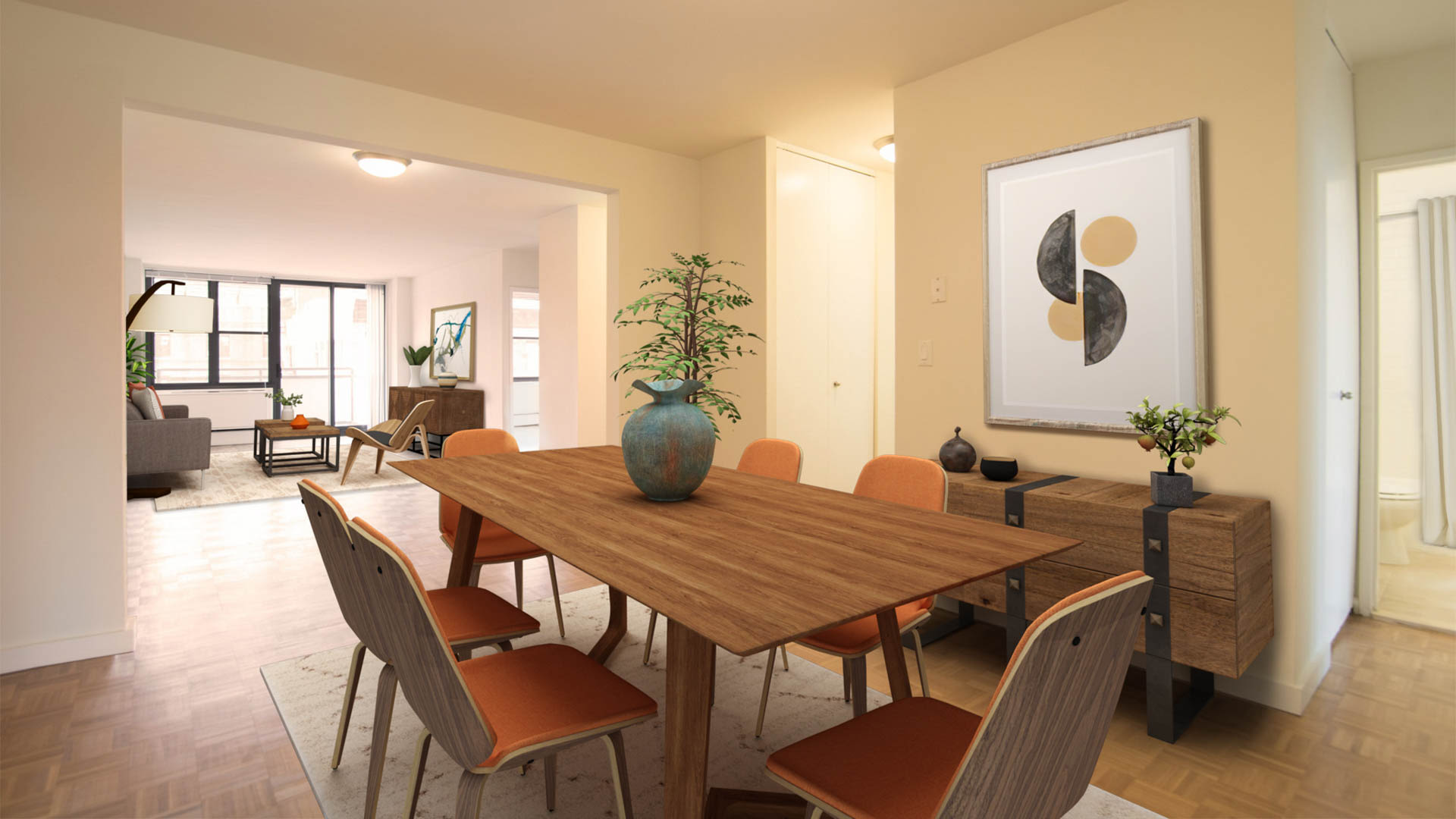 303 East 83rd Apartments - Dining Area