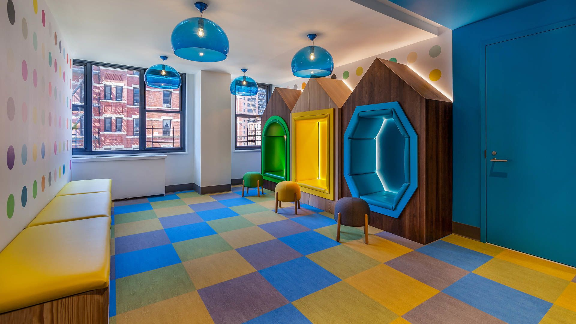 303 East 83rd Apartments - Children's Playroom