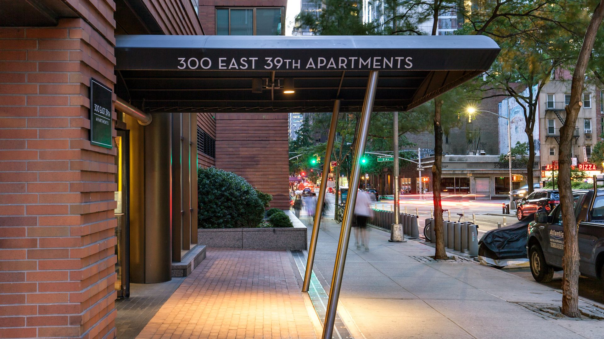 300 East 39th Apartments - Entrance