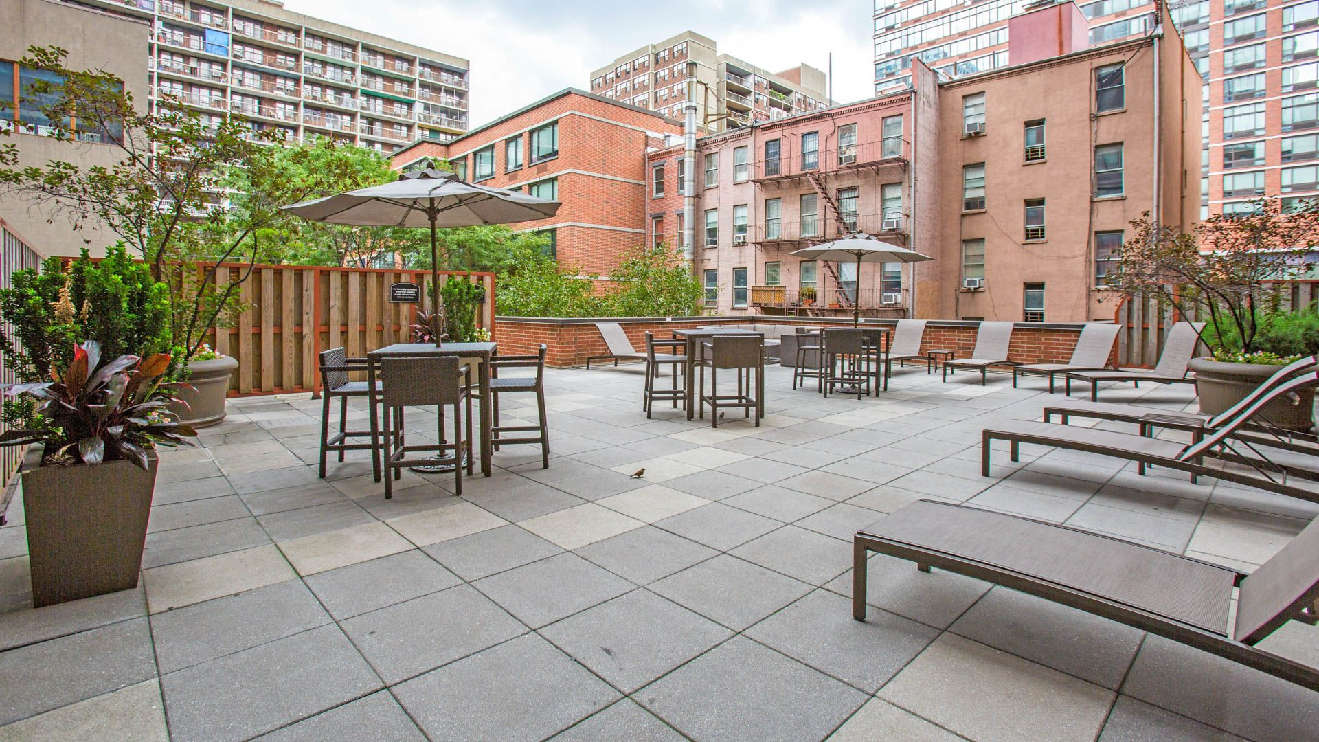 West 54th Apartments - Patio