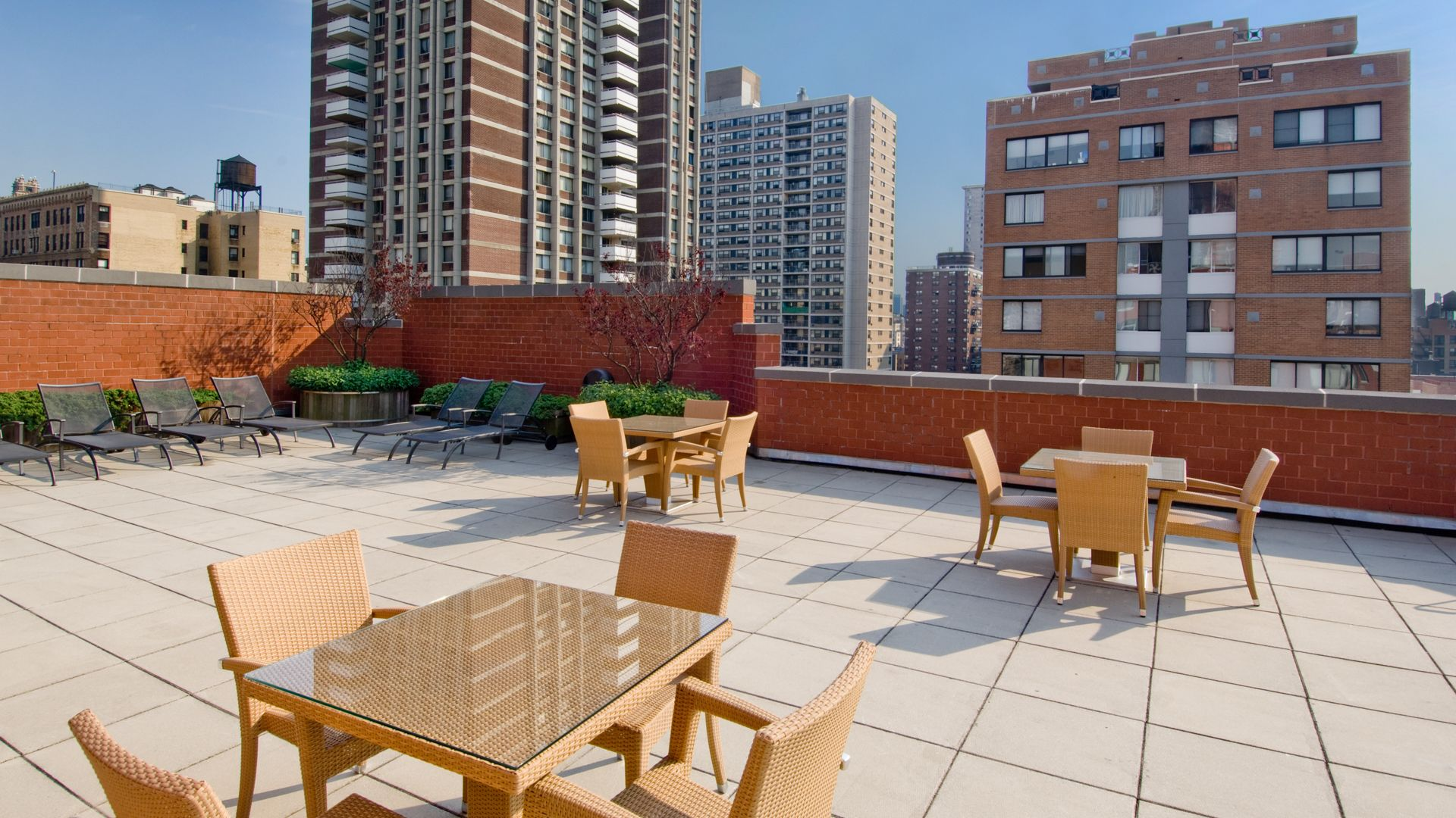 West 96th Apartments - Rooftop Terrace