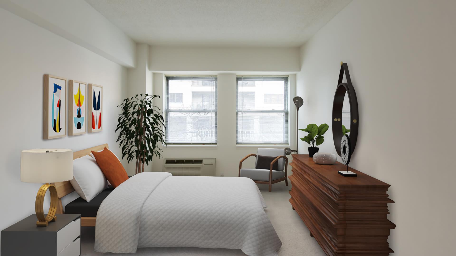 77 Park Avenue Apartments - Bedroom