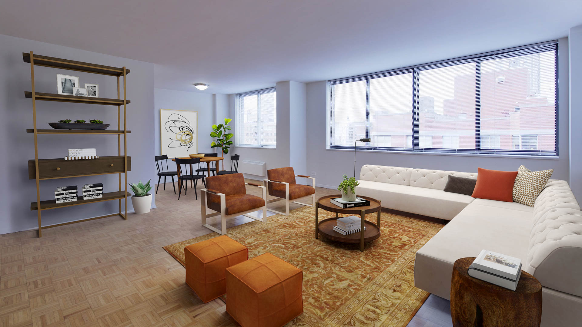 The Westmont Apartments - Living Area