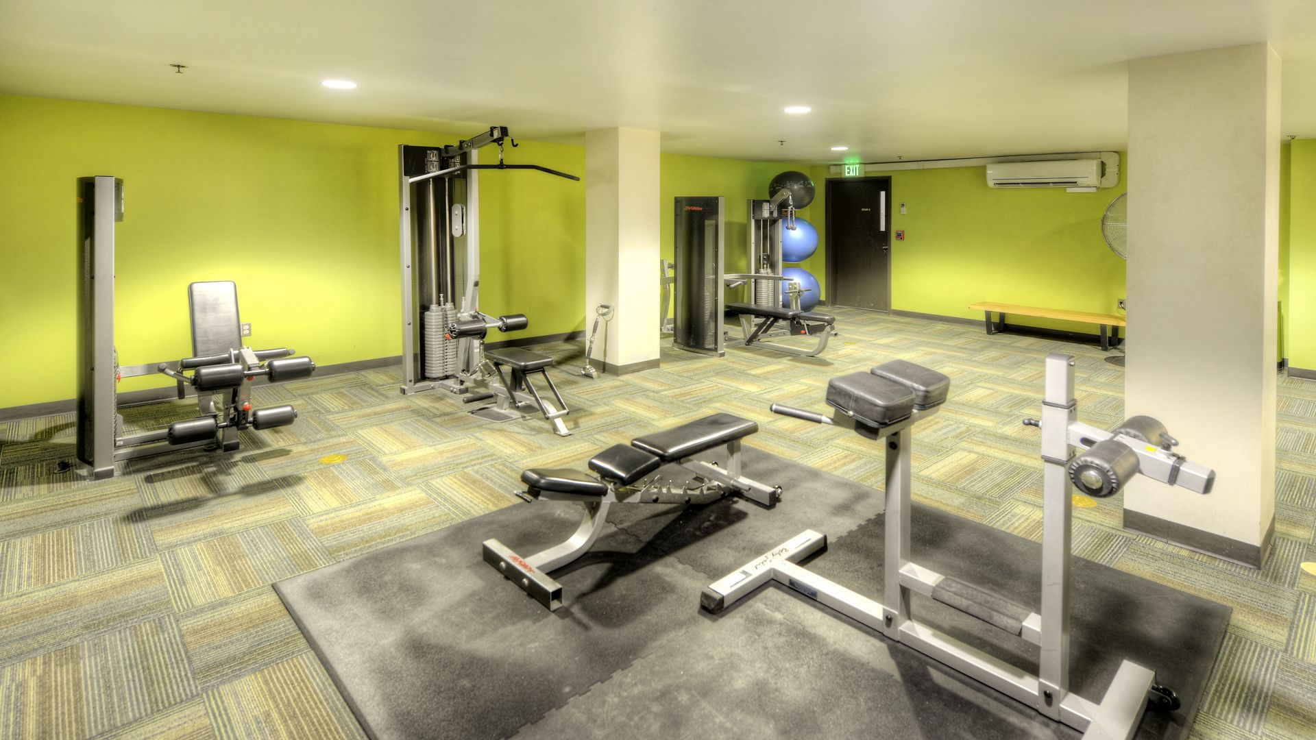 Alcyone Apartments Fitness Center