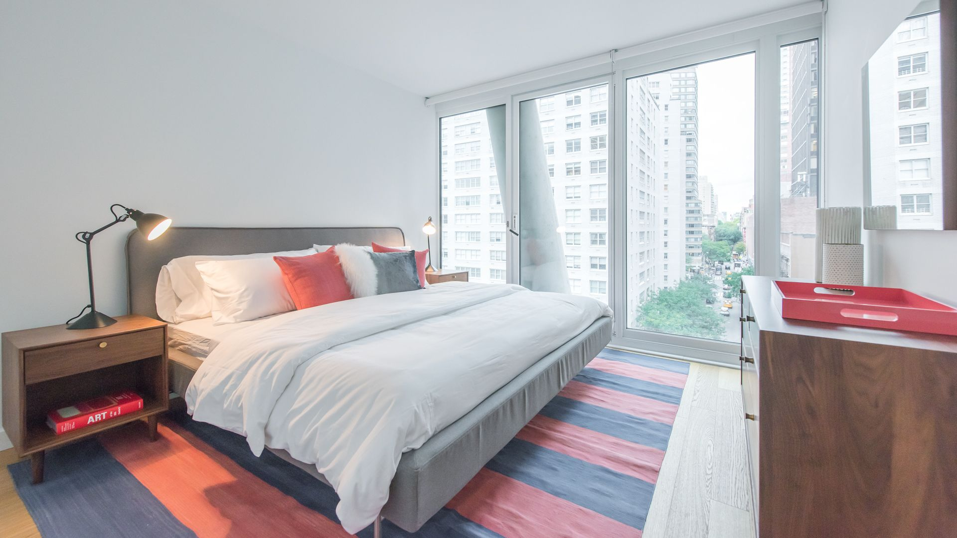 170 Amsterdam Apartments - Bedroom