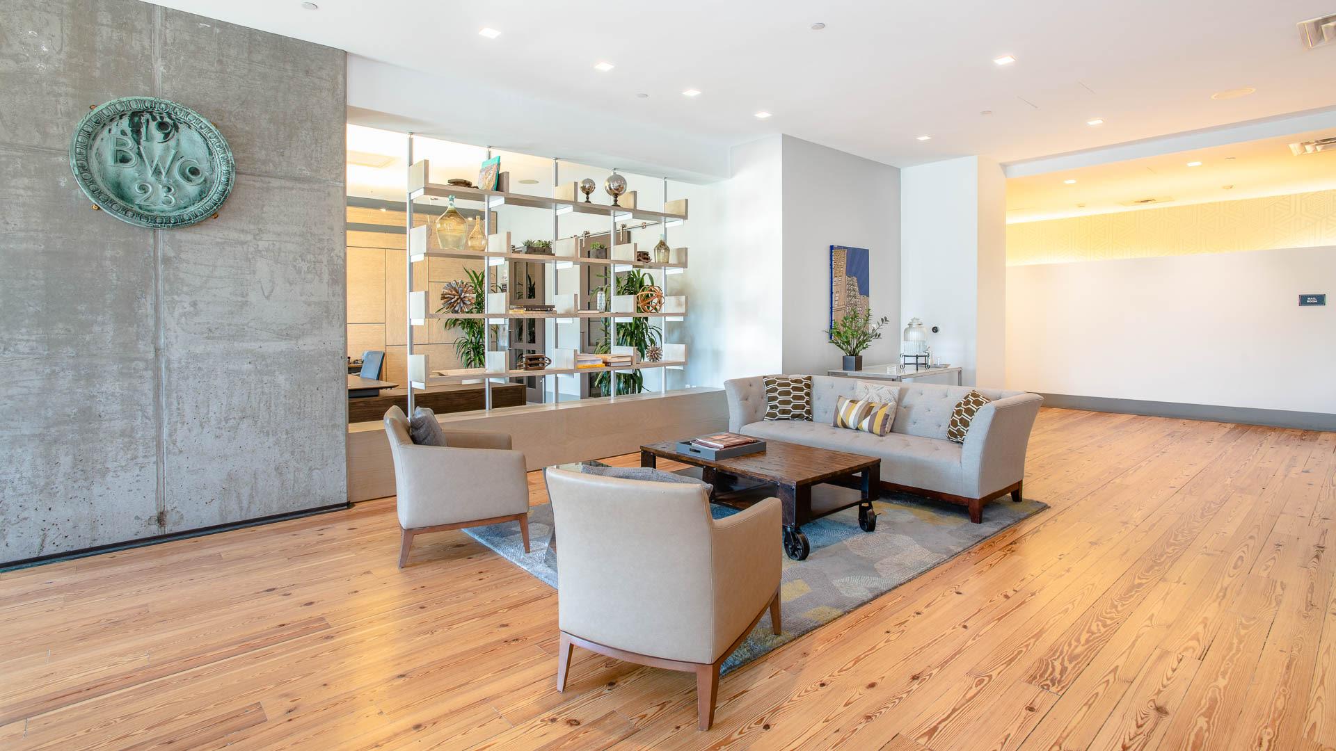 315 on A Apartments - Lobby