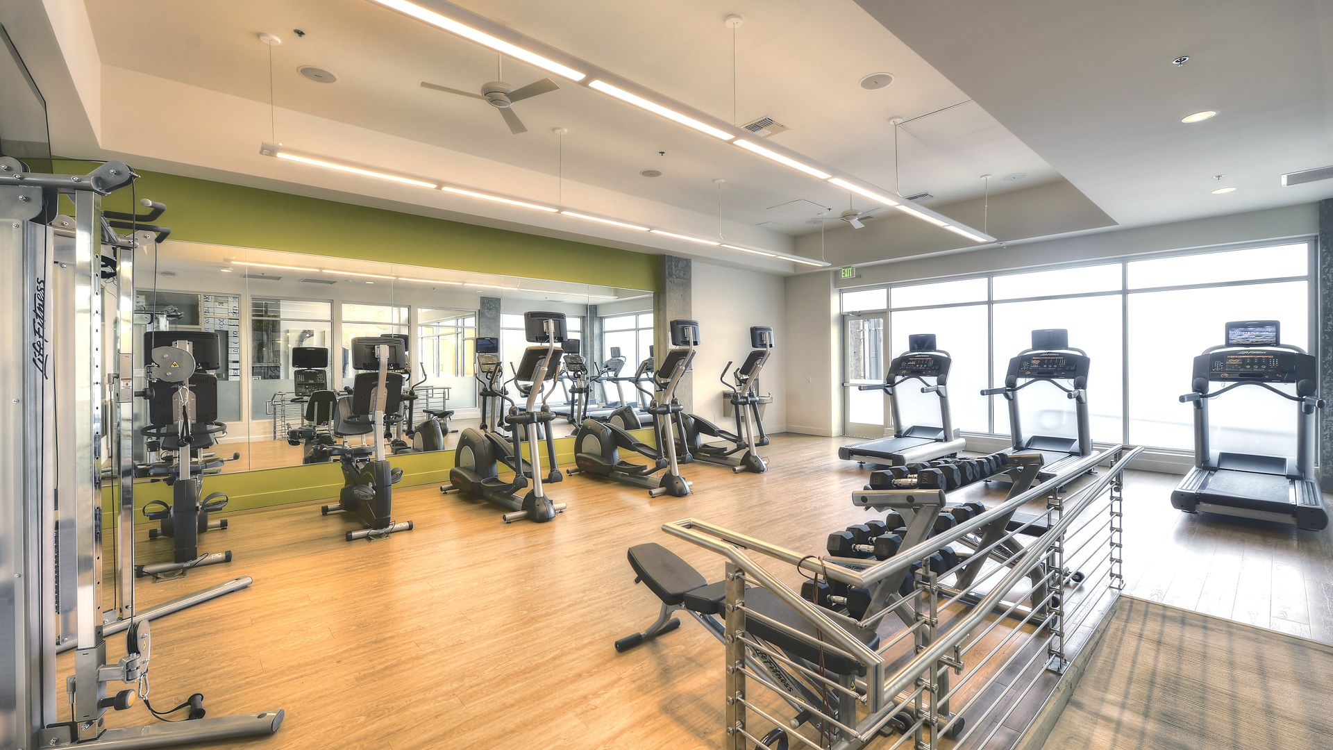 Junction 47 Apartments - Fitness Center