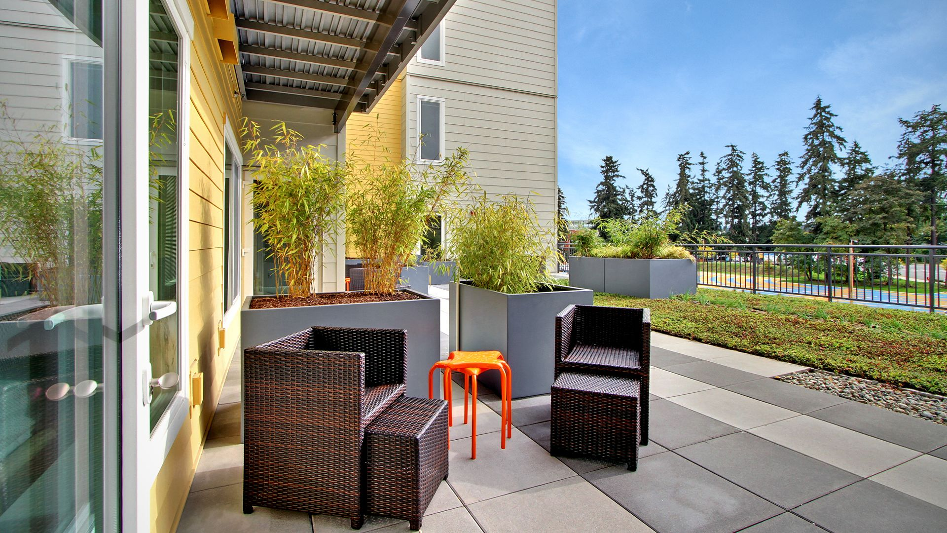 Old Town Lofts Apartments - Outdoor Space