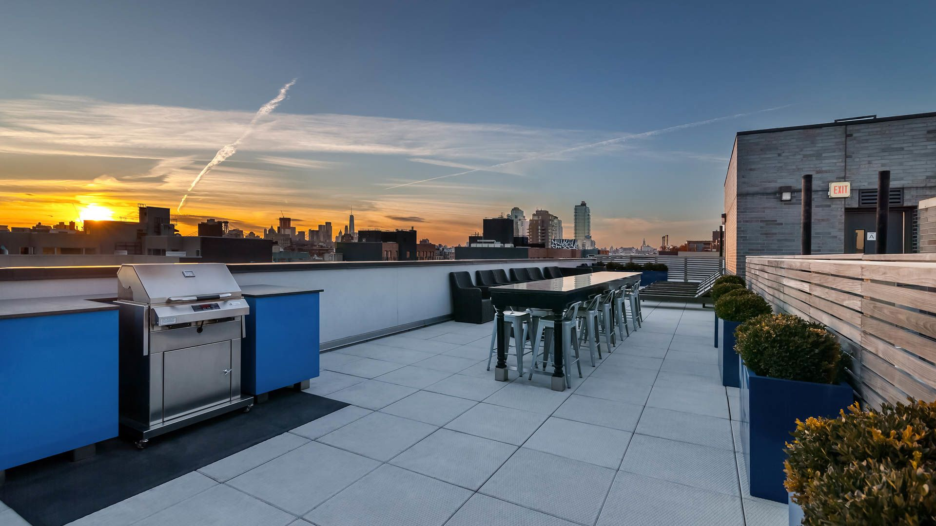 Atelier Apartments - Rooftop Lounge