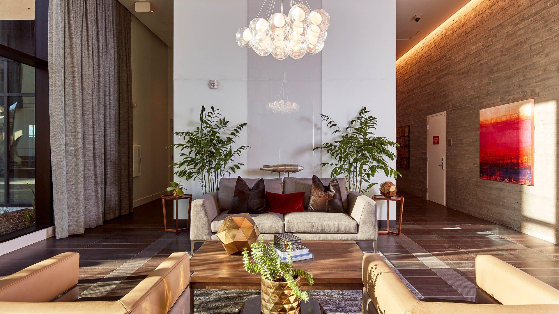 One Henry Adams Apartments - Lobby