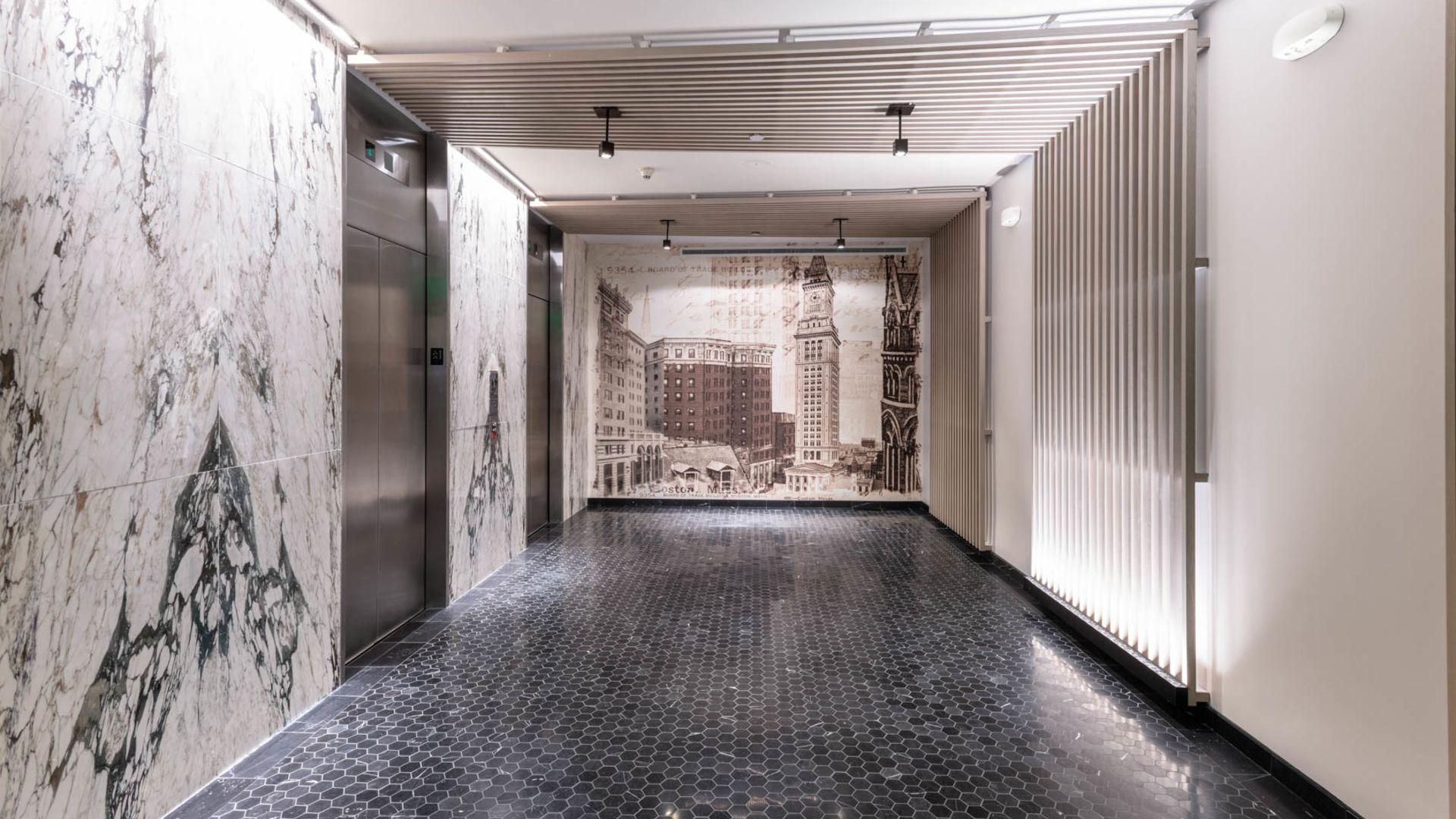 One India Street Apartments - Lobby
