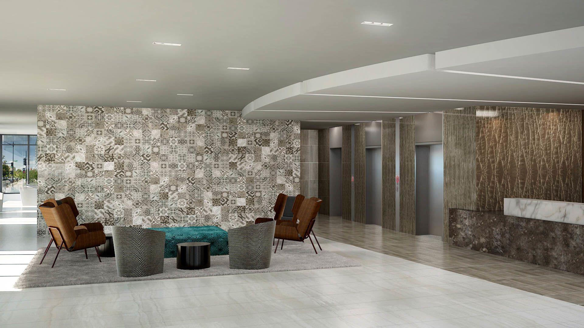 100K Apartments - Lobby