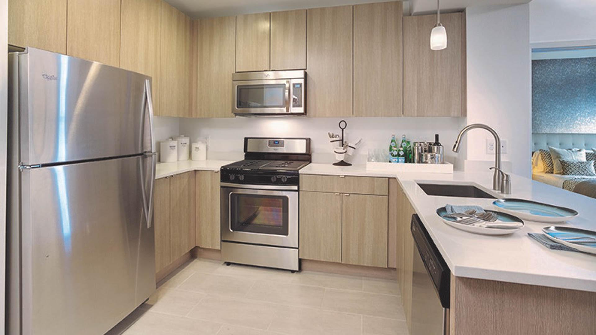 The Rivington Apartments - Kitchen