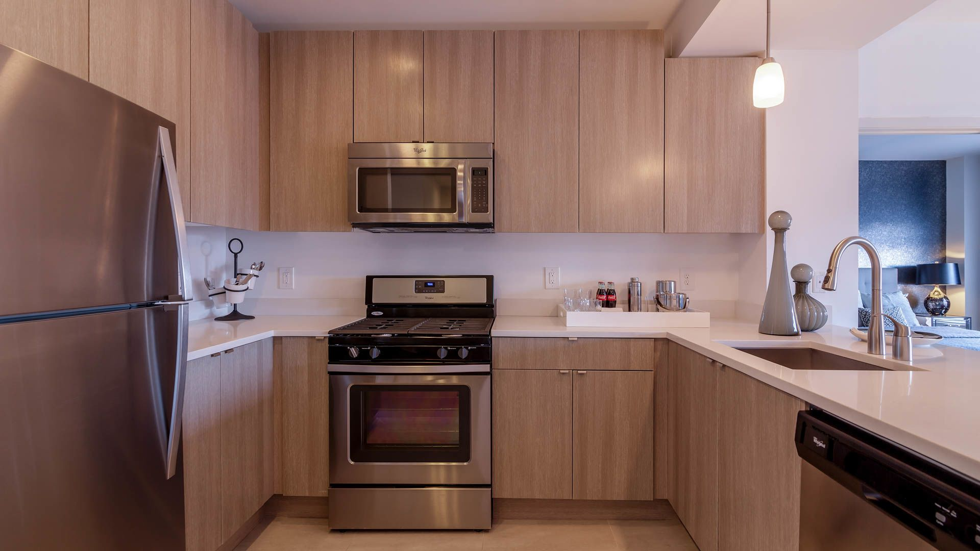 The Rivington Apartments - Kitchen