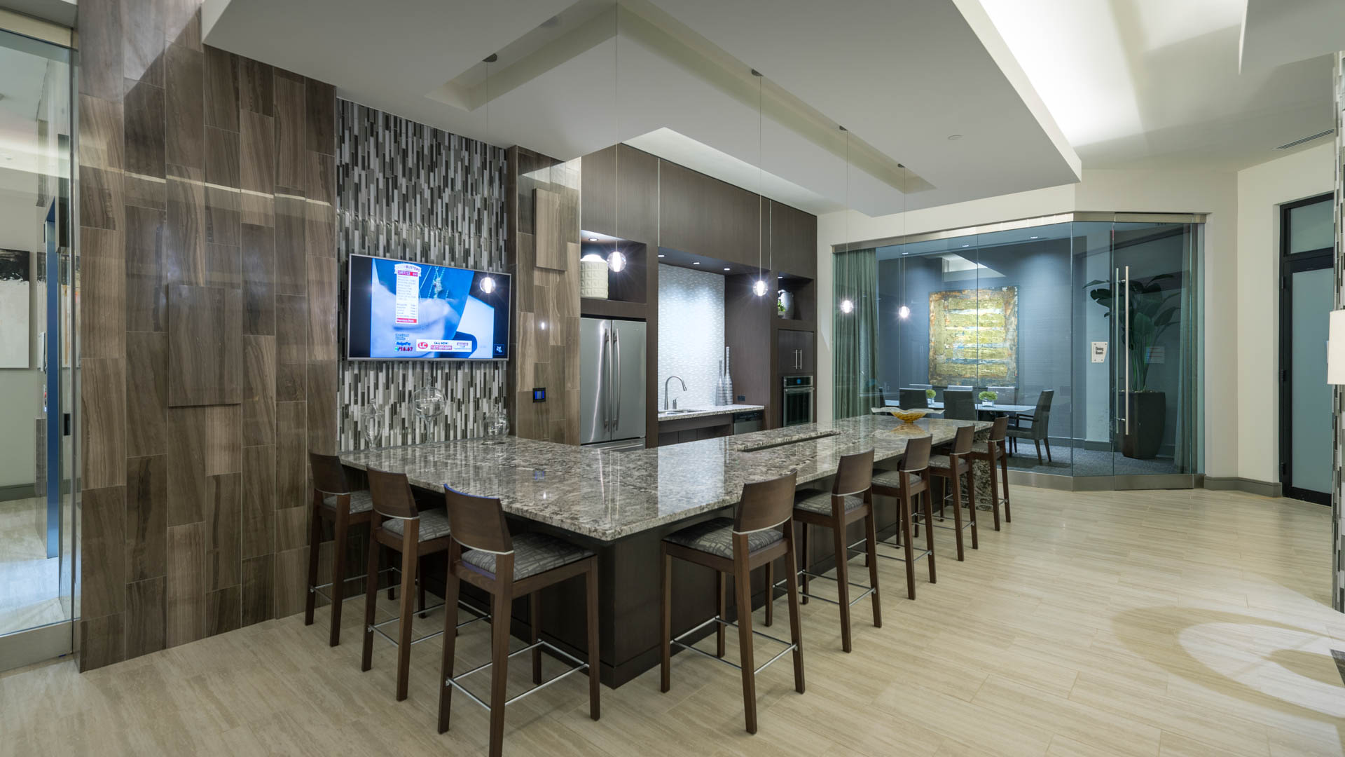 Axis at Shady Grove Apartments - Resident Lounge