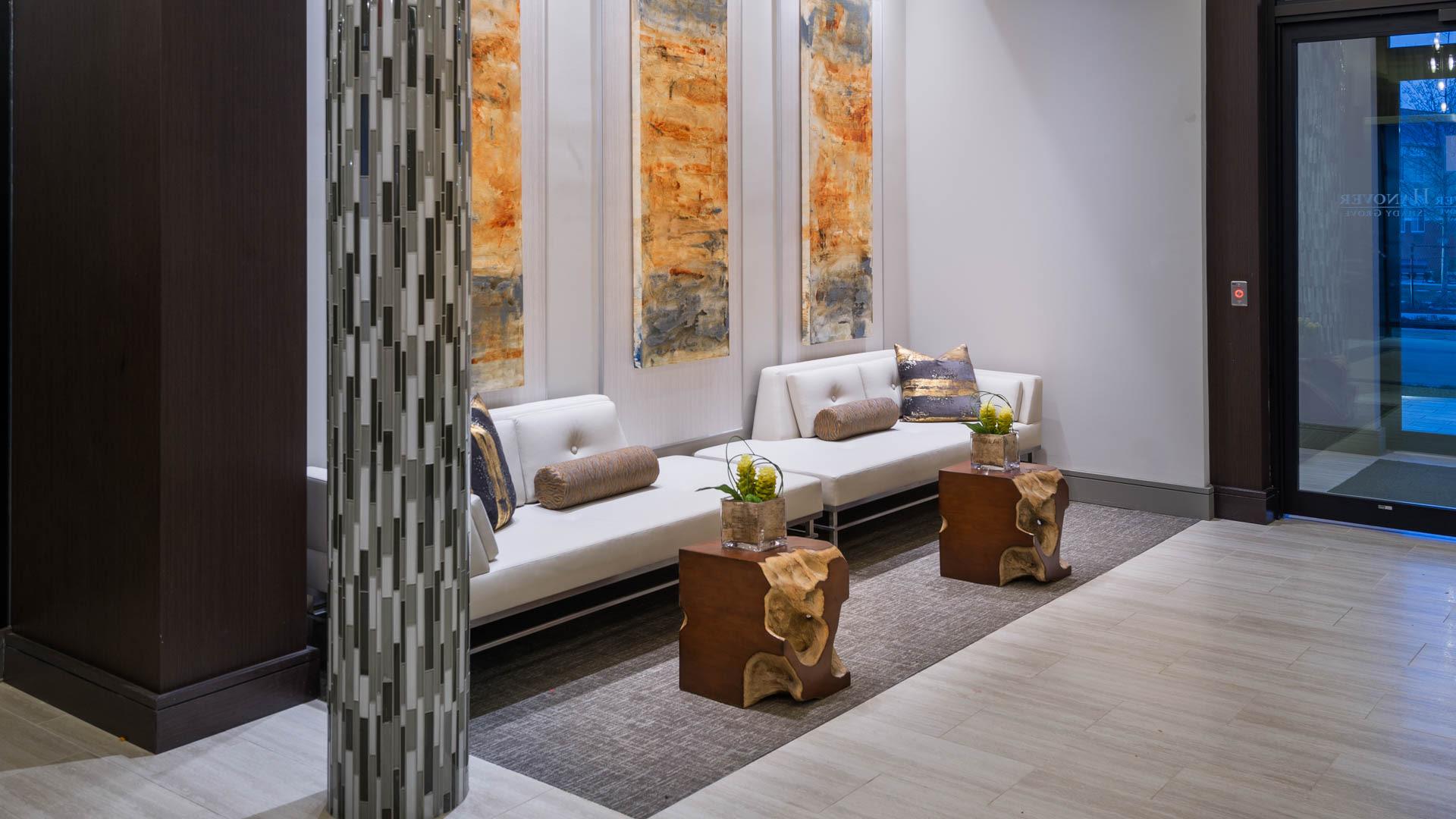 Axis at Shady Grove Apartments - Lobby