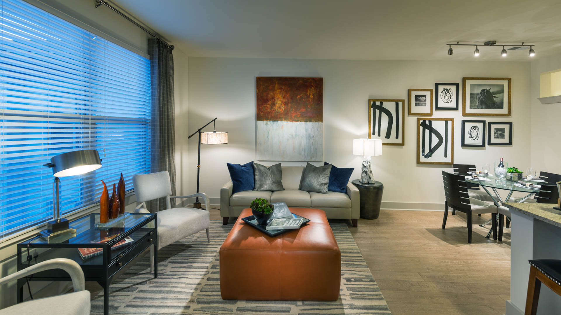 Axis at Shady Grove Apartments - Living Area