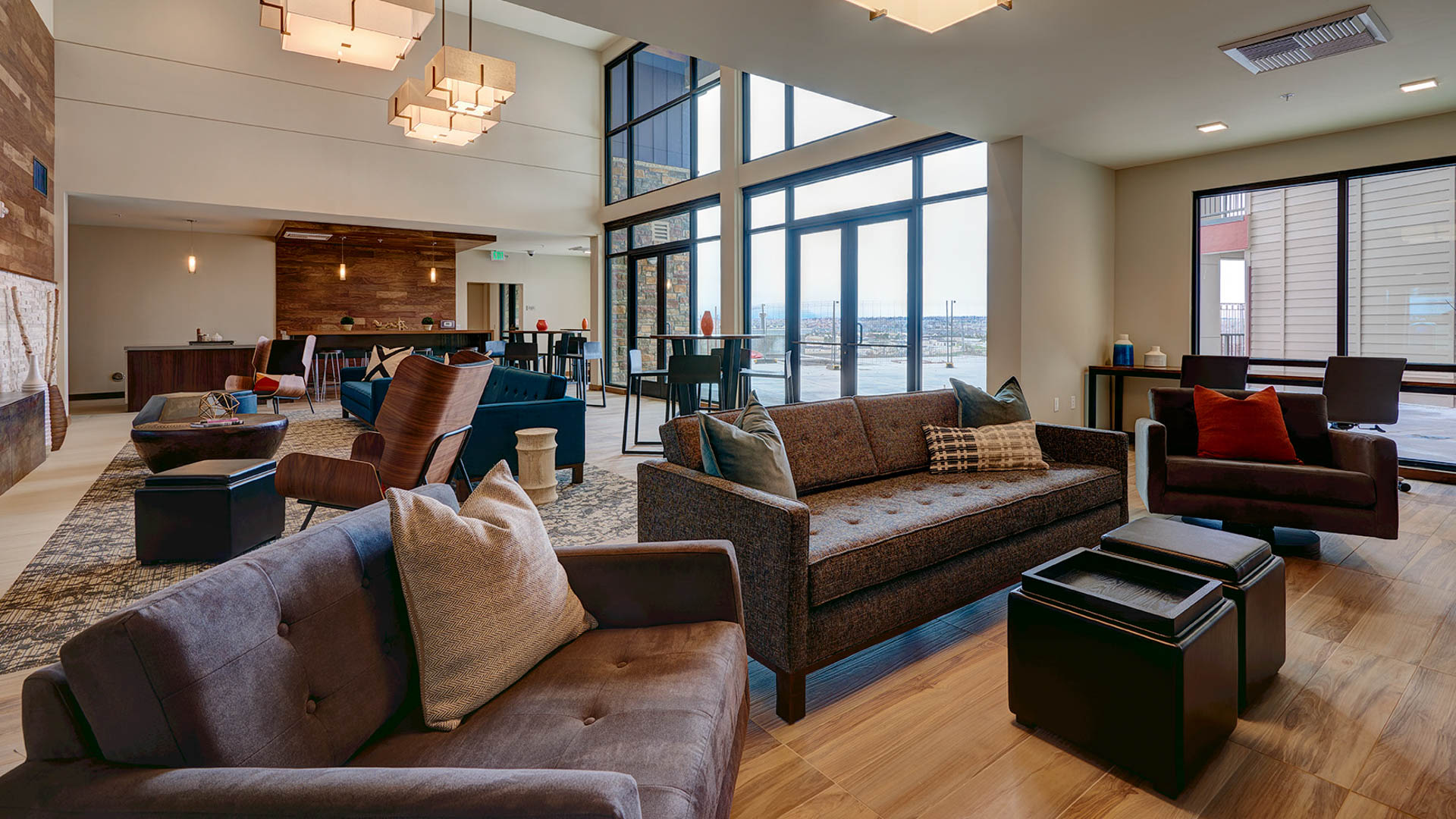 The Brodie Apartments - Resident Lounge