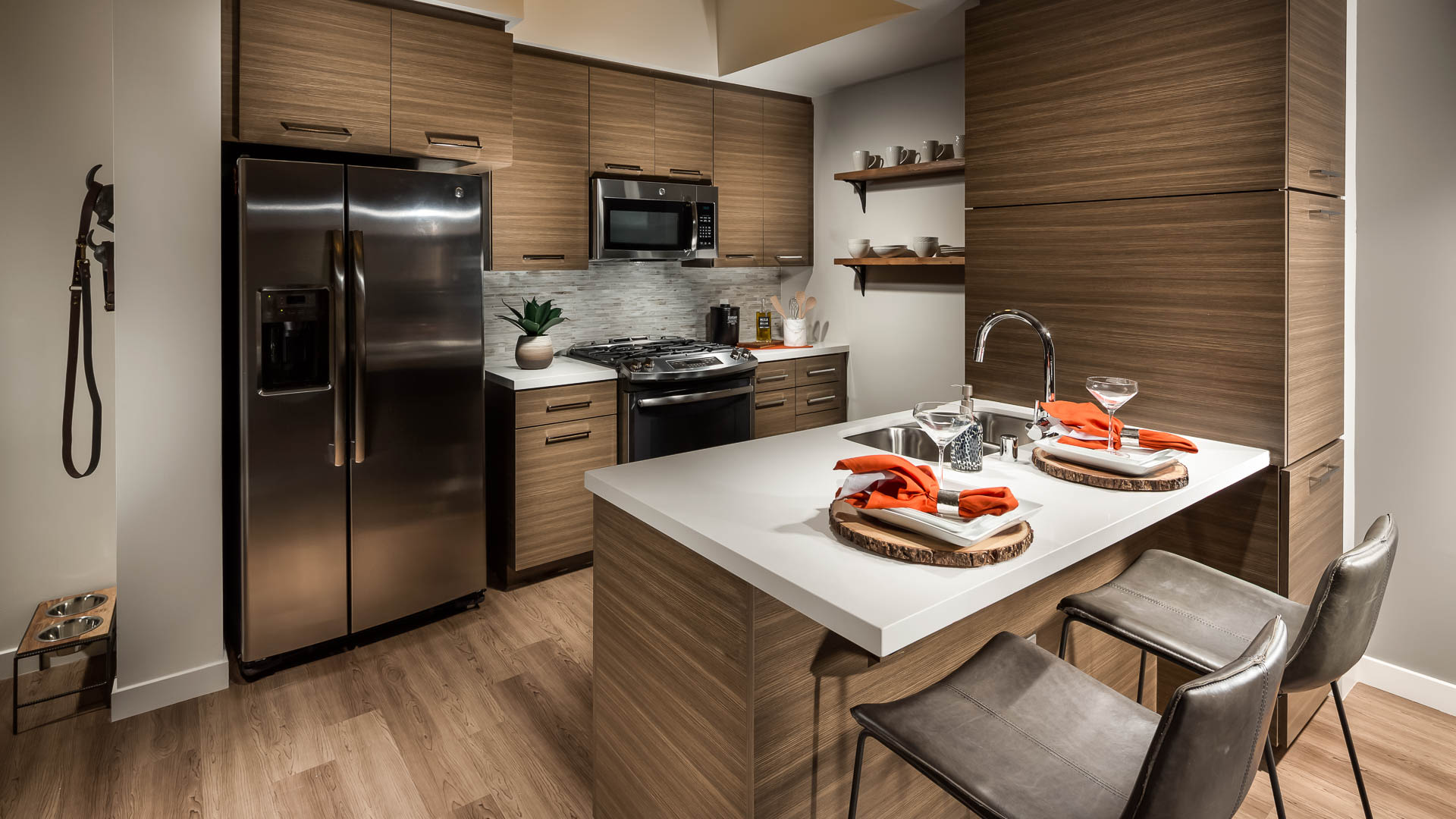 Next on Sixth Apartments - Kitchen