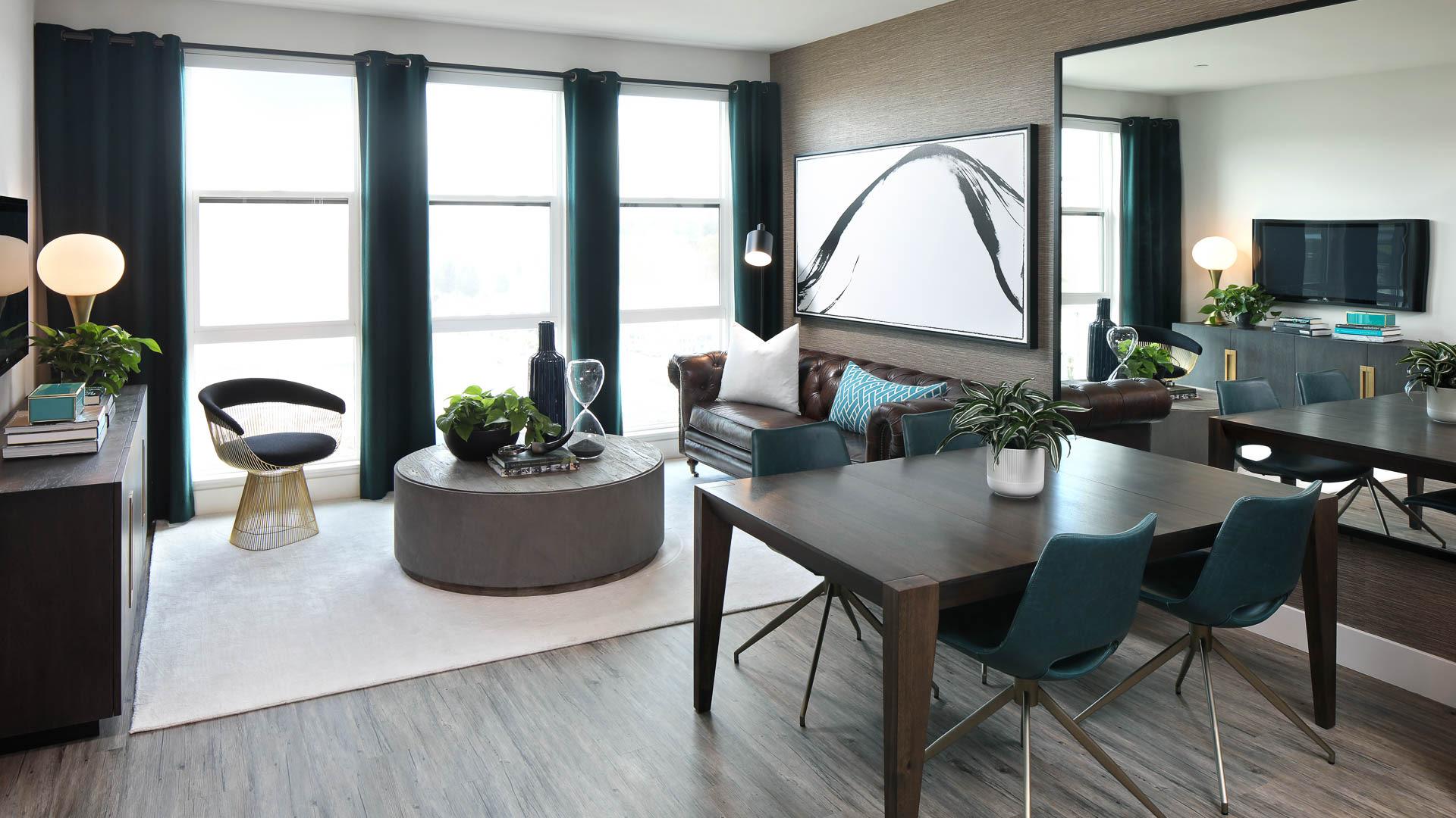 Huxley Apartments - Living Area