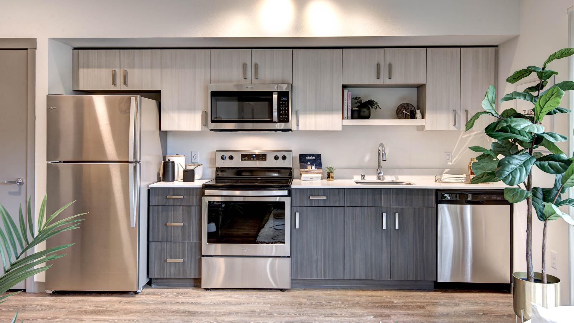 Lane Apartments - Kitchen