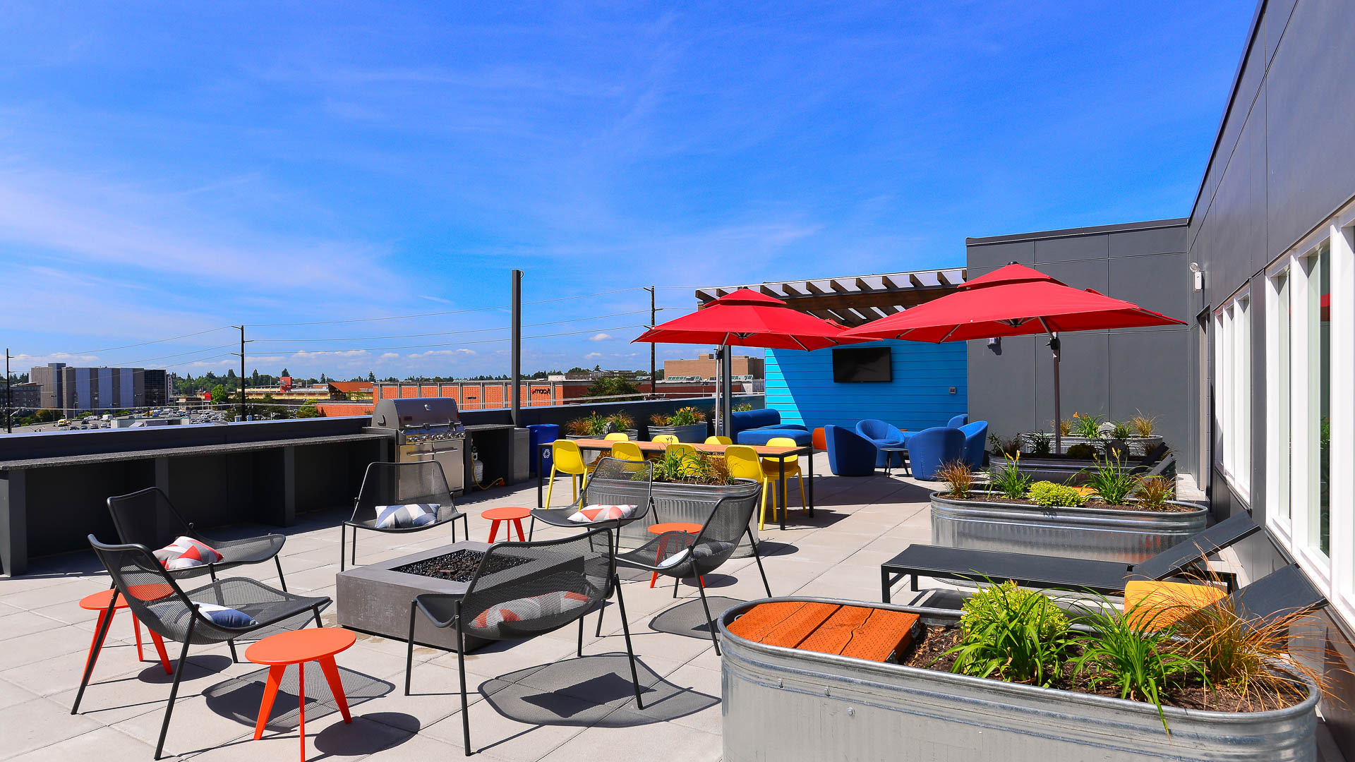 Lane Apartments - Rooftop Deck