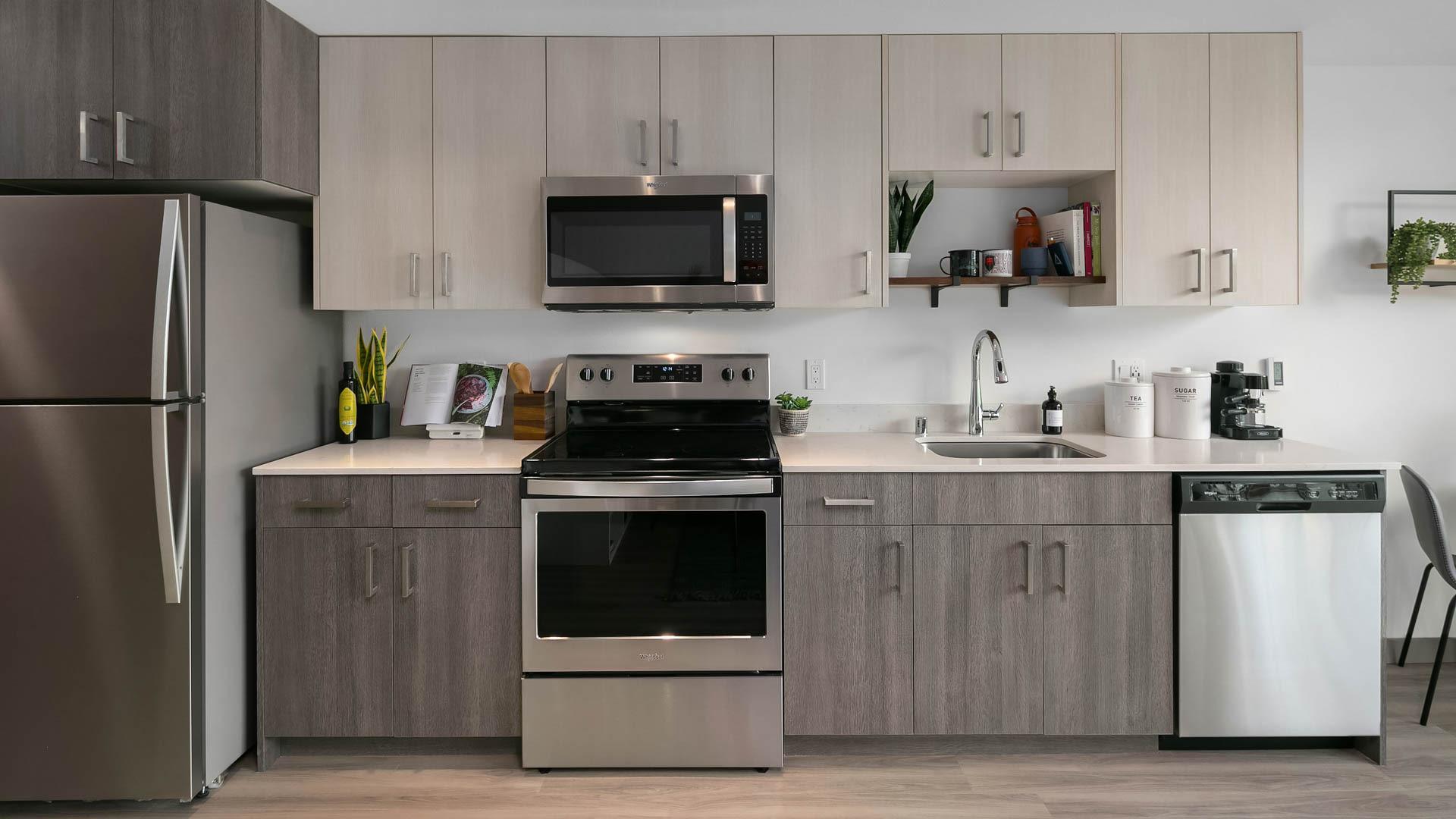 Notch Apartments - Kitchen