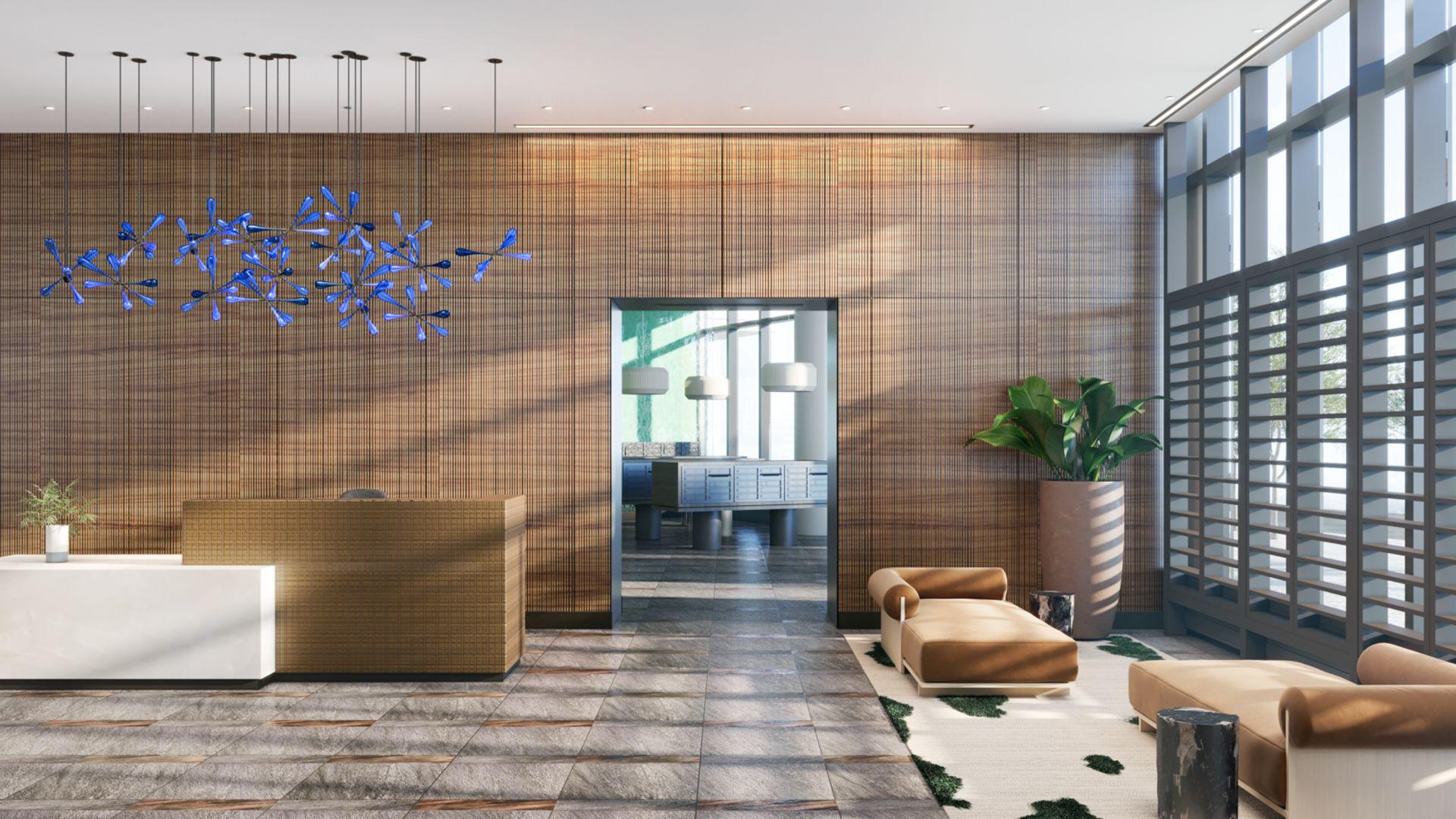 Alcott Apartments - Lobby