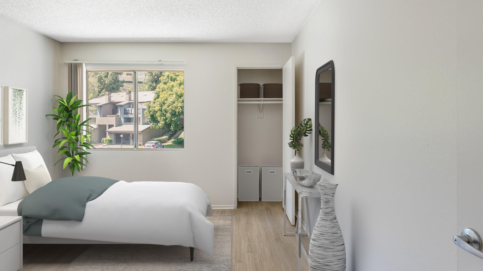 Hathaway Apartments - Bedroom