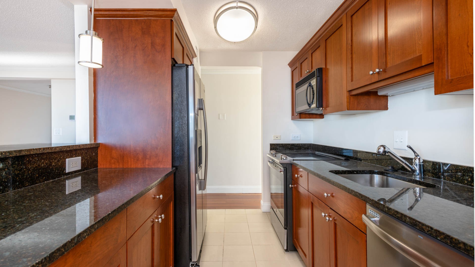 The Towers at Longfellow Apartments - Kitchen