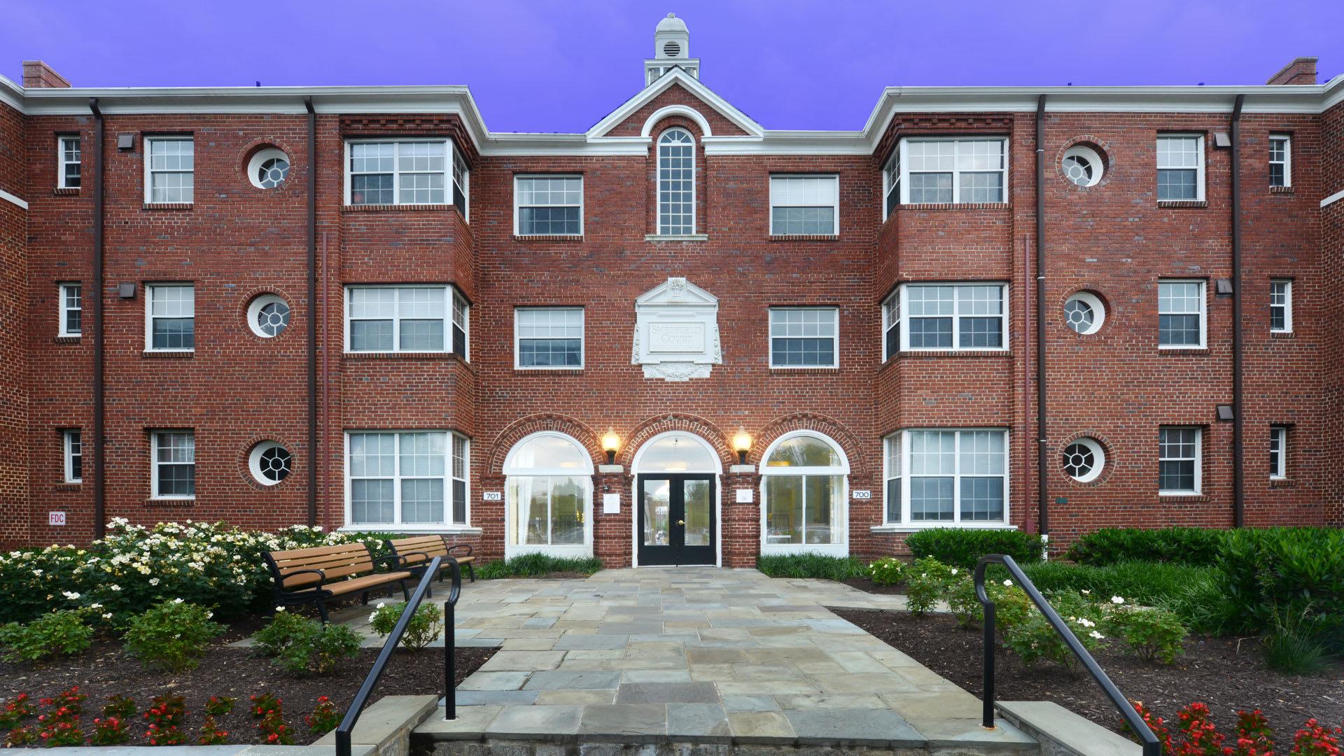 Sheffield Court Apartments - Exterior
