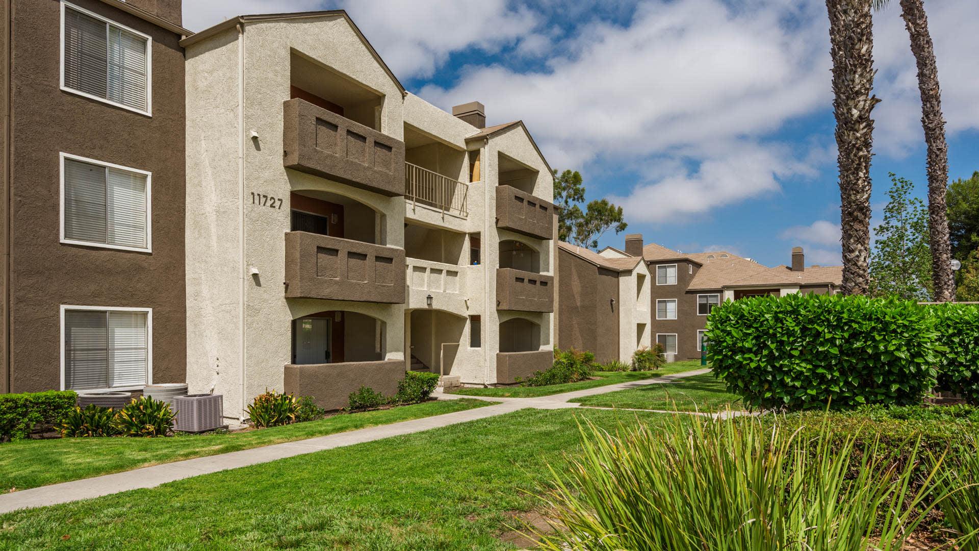 Carmel Terrace Apartments - Exterior