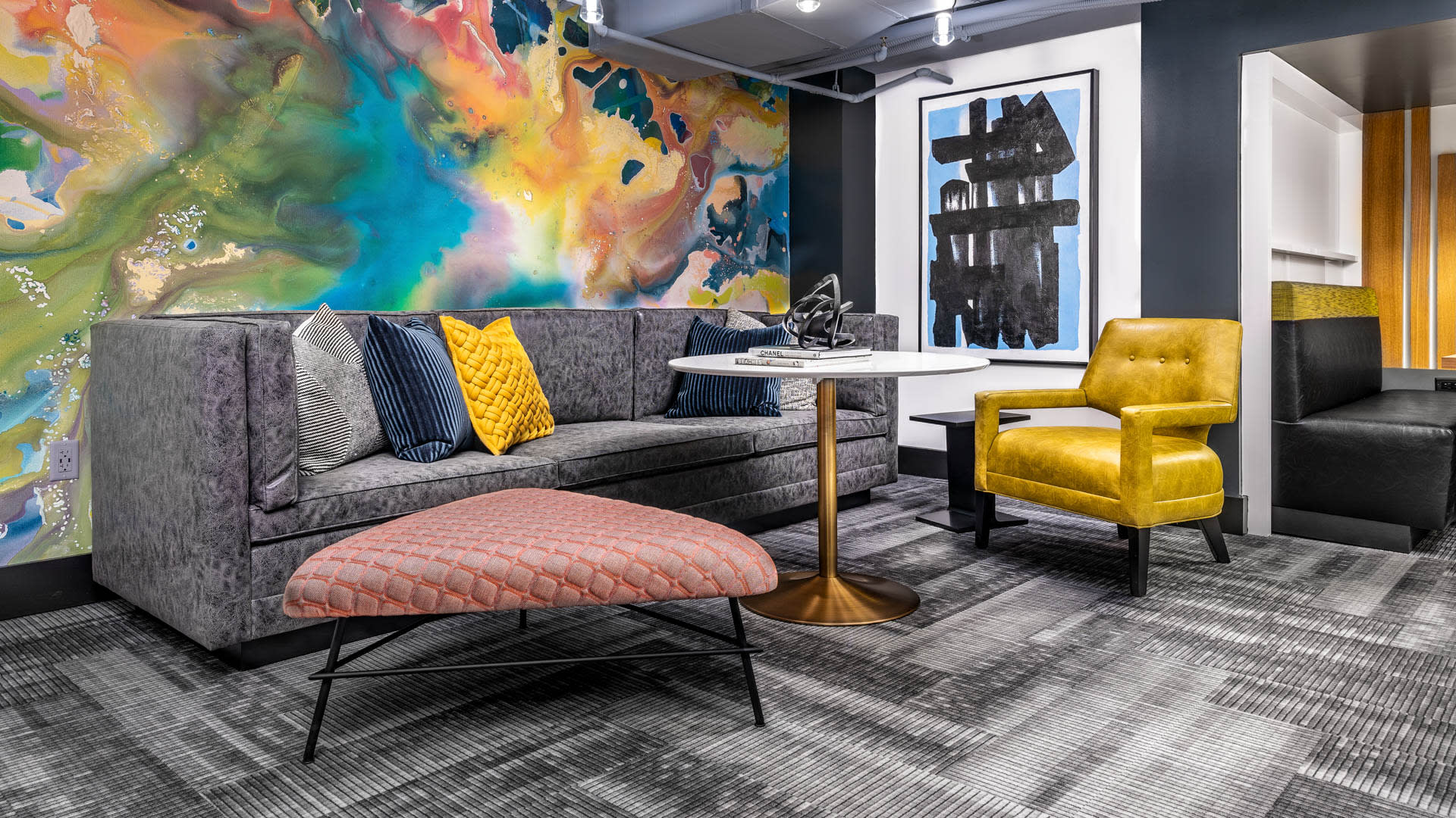 The Prime at Arlington Courthouse Apartments - Resident Lounge