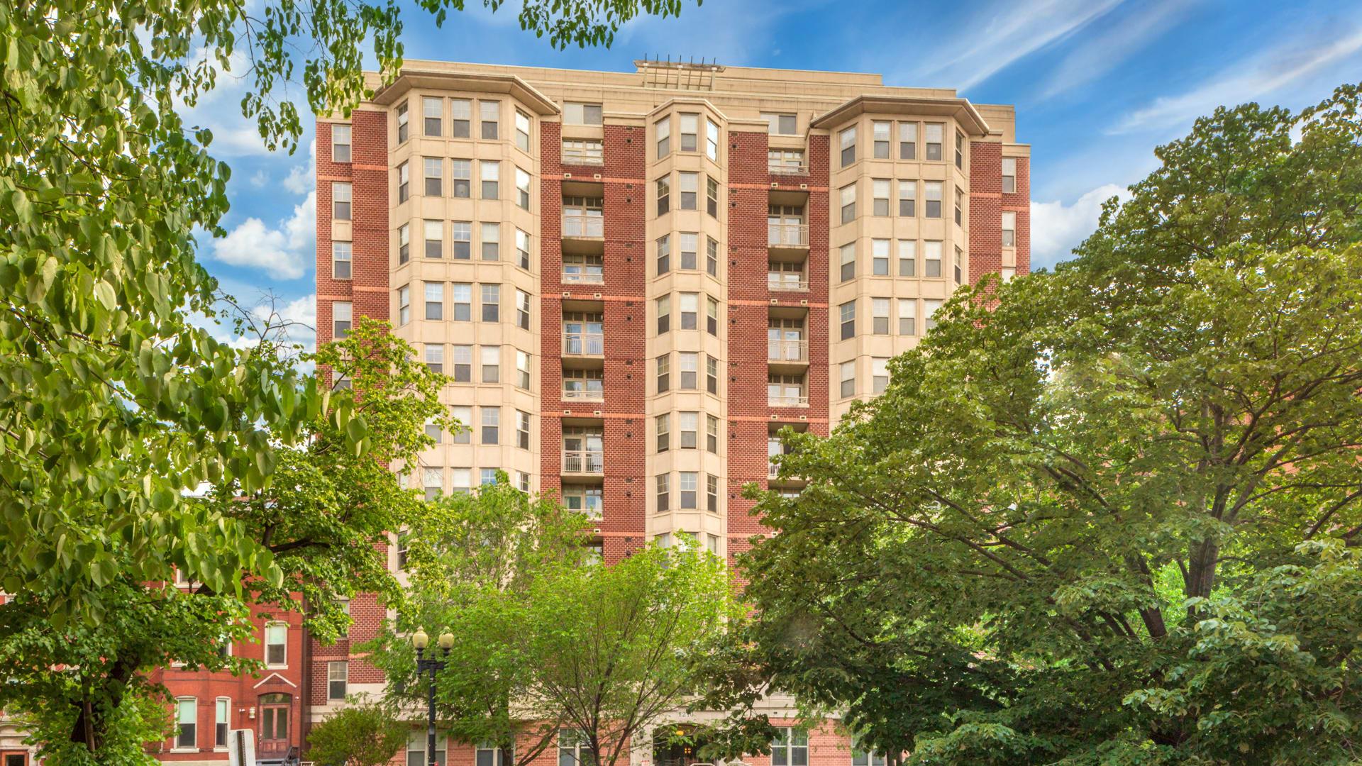 1210 Mass Apartments - Exterior