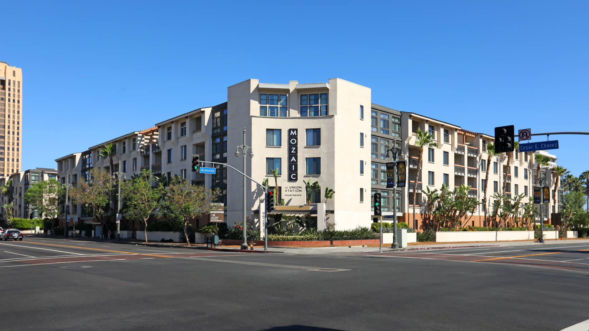 Mozaic at Union Station Apartments - Building Exterior