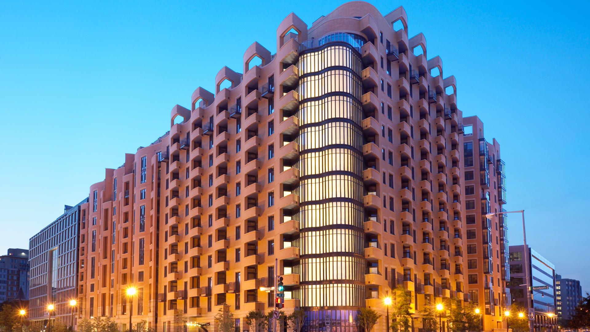 425 Mass Apartments - Building