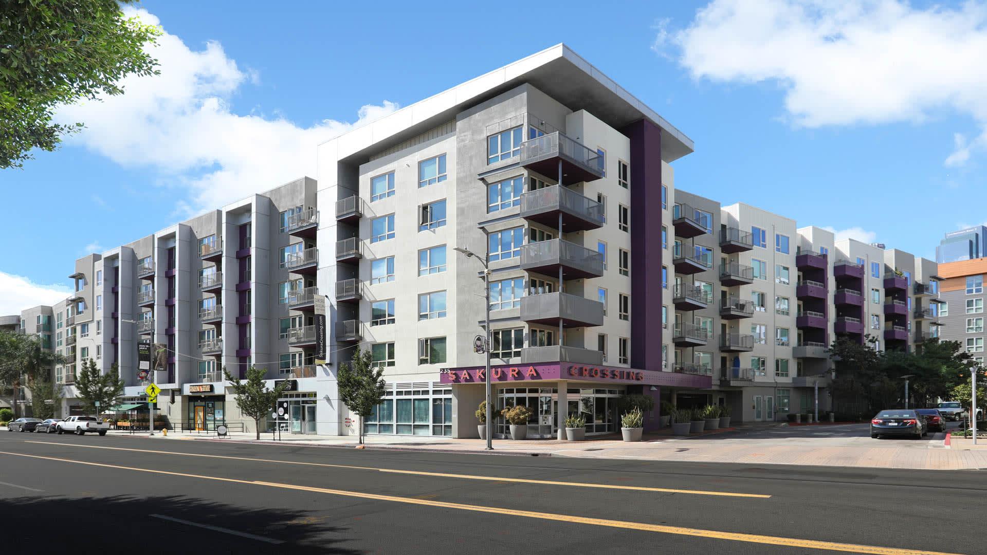 Sakura Crossing Apartments - Exterior