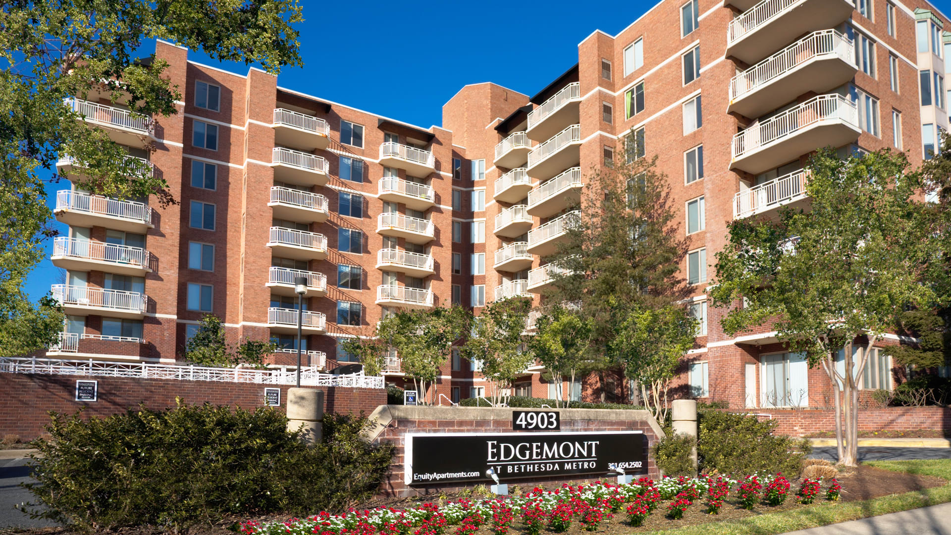 Edgemont at Bethesda Metro Apartments - Building