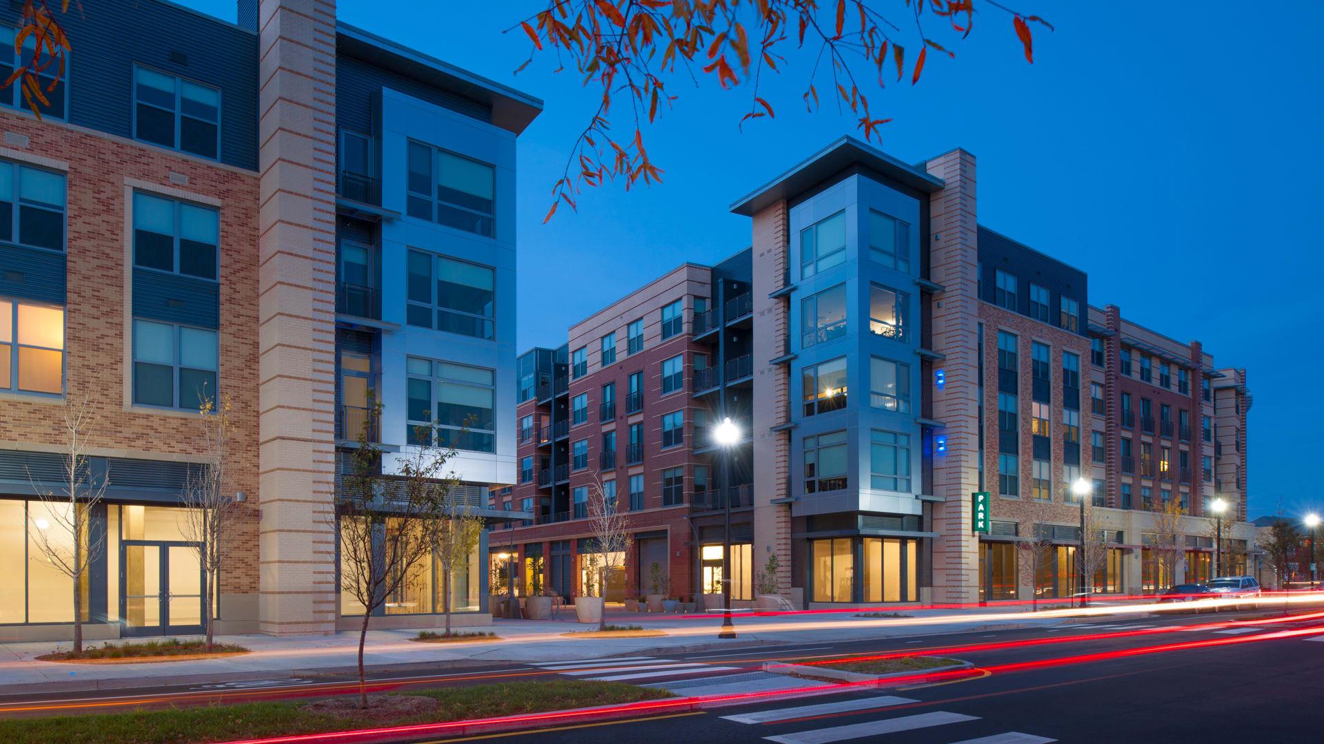 2201 Pershing Apartments - Building
