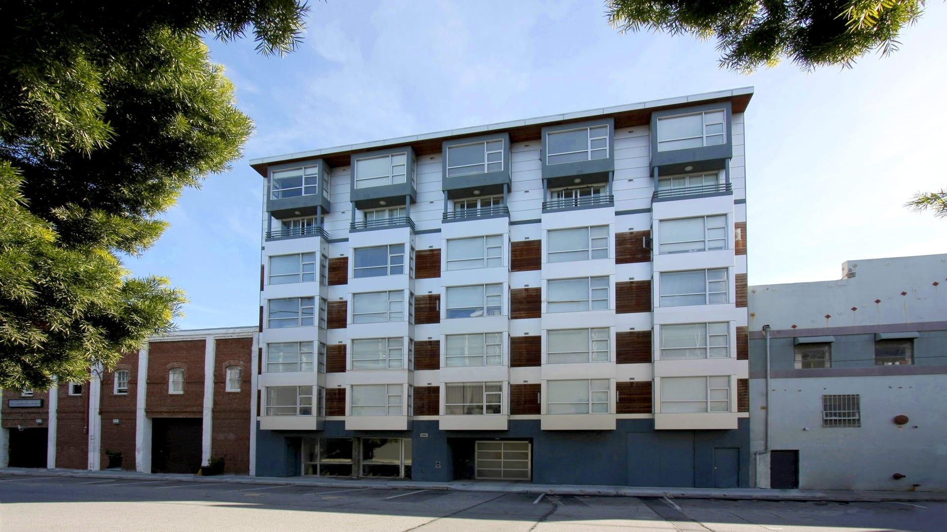 77 Bluxome Apartments - Building