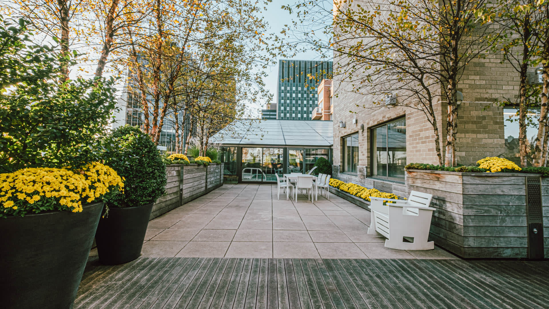 Murray Hill Tower Apartments - Rooftop Deck